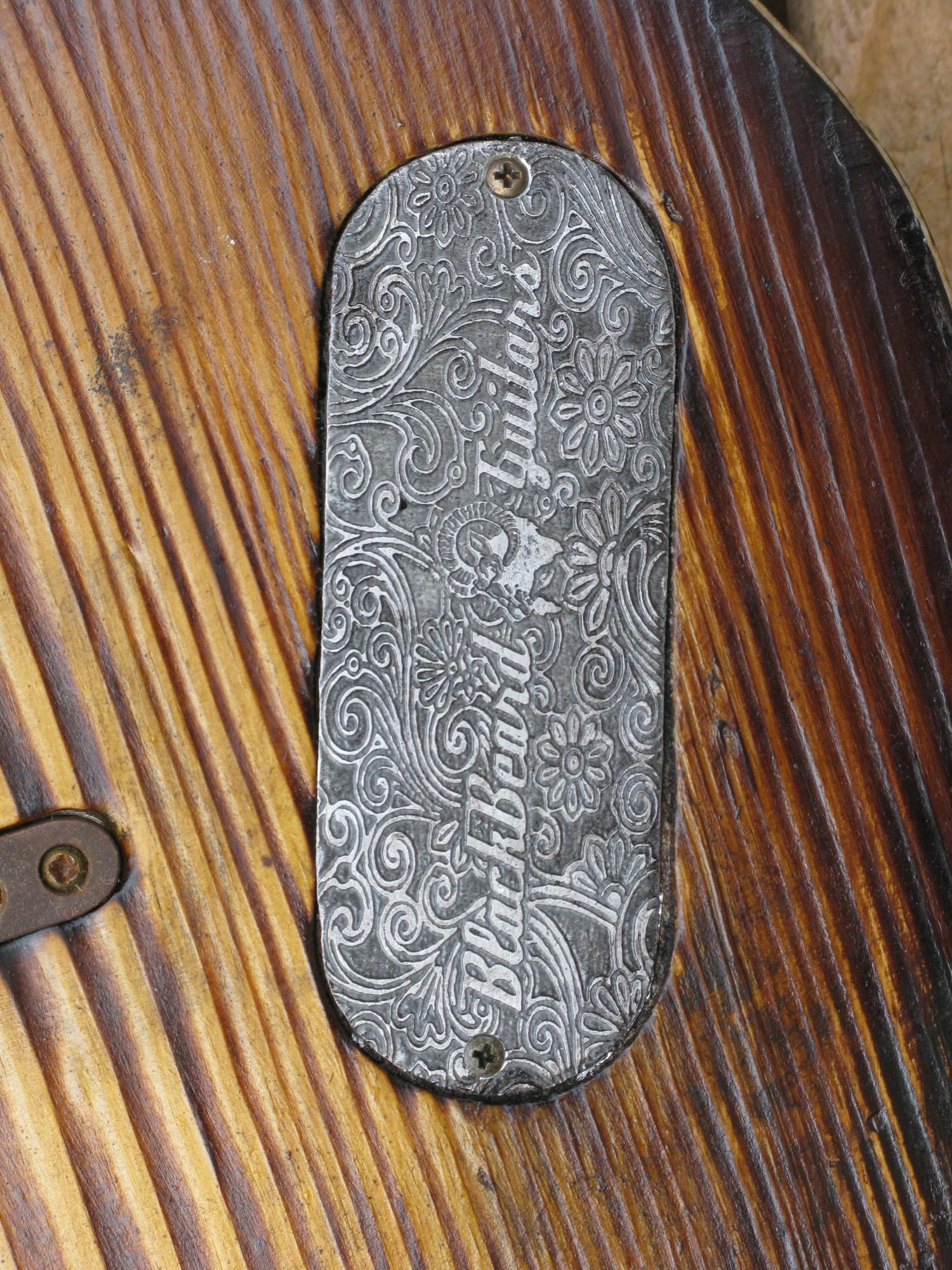 Chitarra modello telecaster 1 pickup piastra incisa