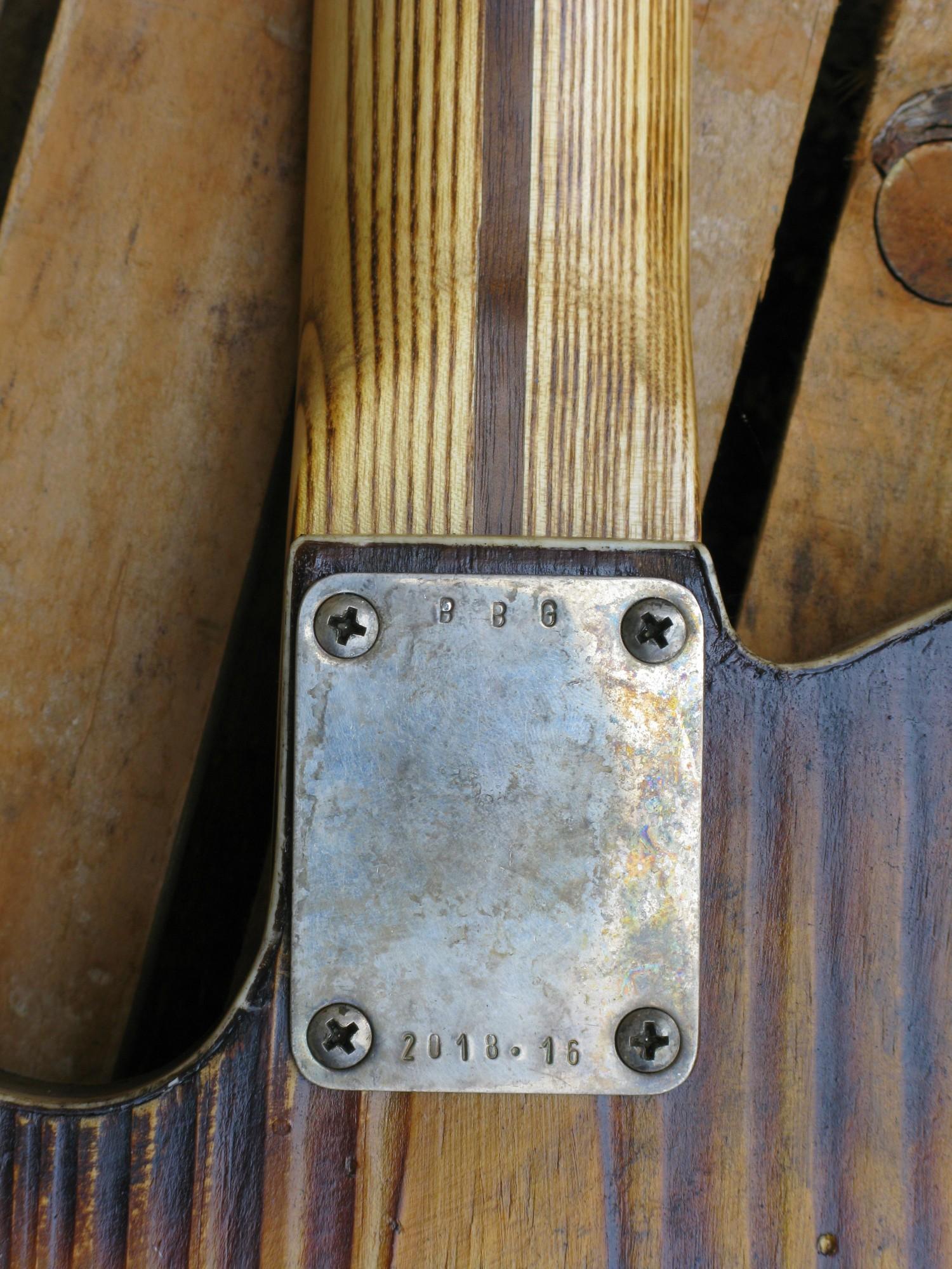 Chitarra modello telecaster 1 pickup plate