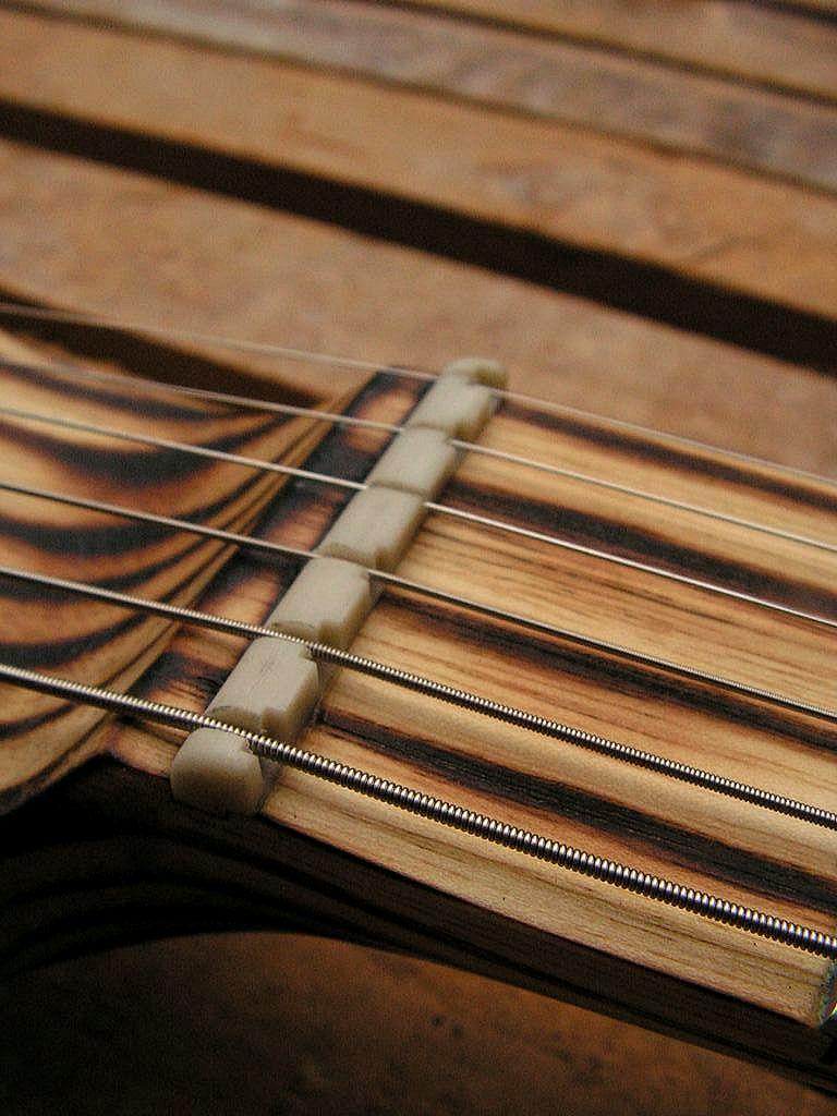 Chitarra elettrica ibrida con manico da telecaster e corpo LP Junior: capotasto