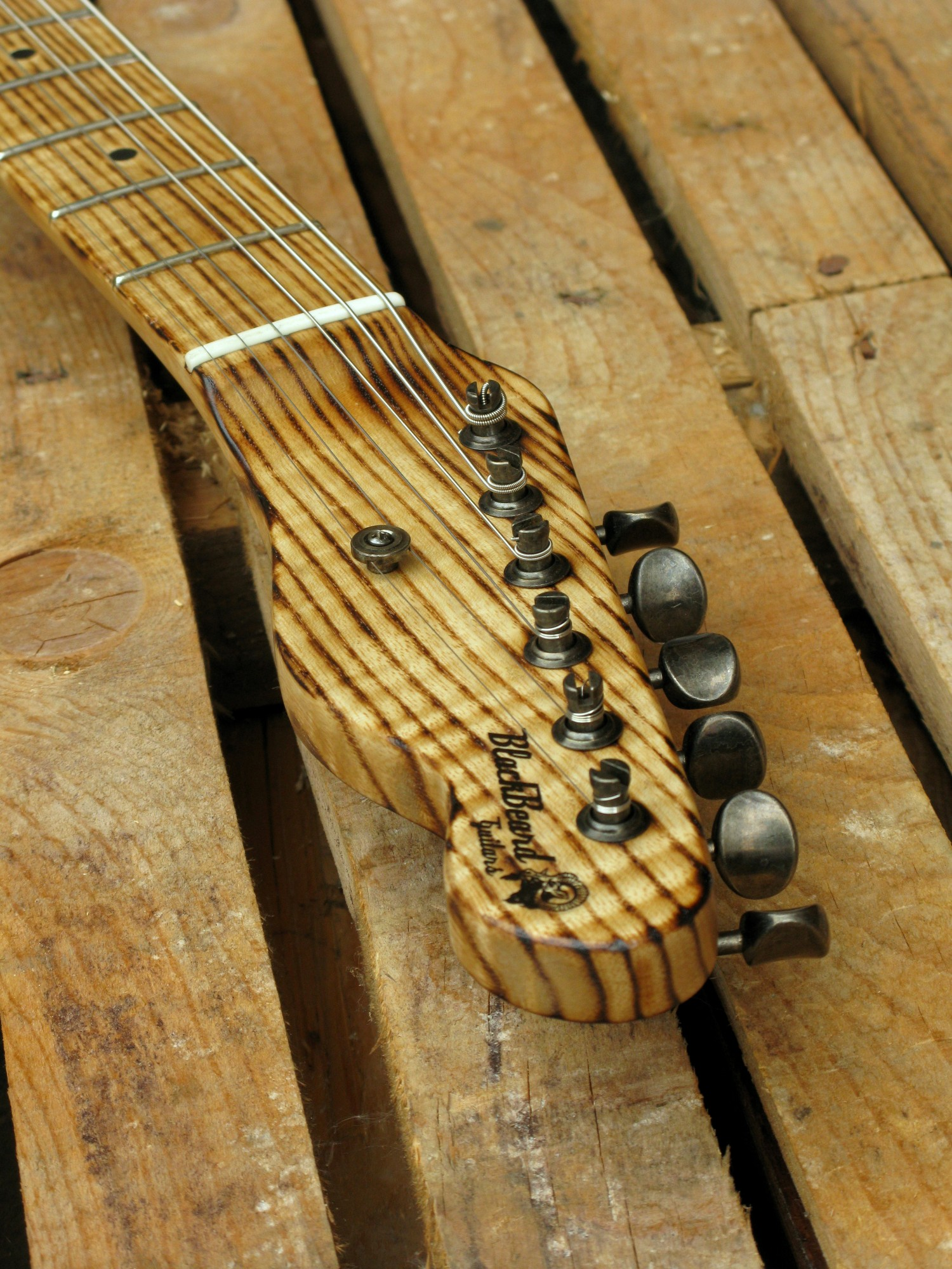 Paletta di una Telecaster in pitch pine