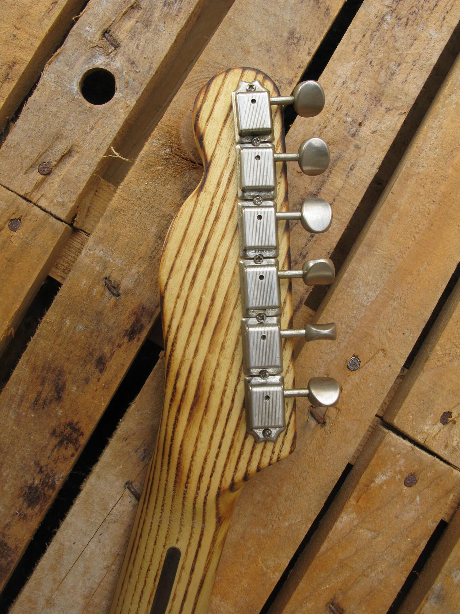 Paletta di una Telecaster Thinline in pino