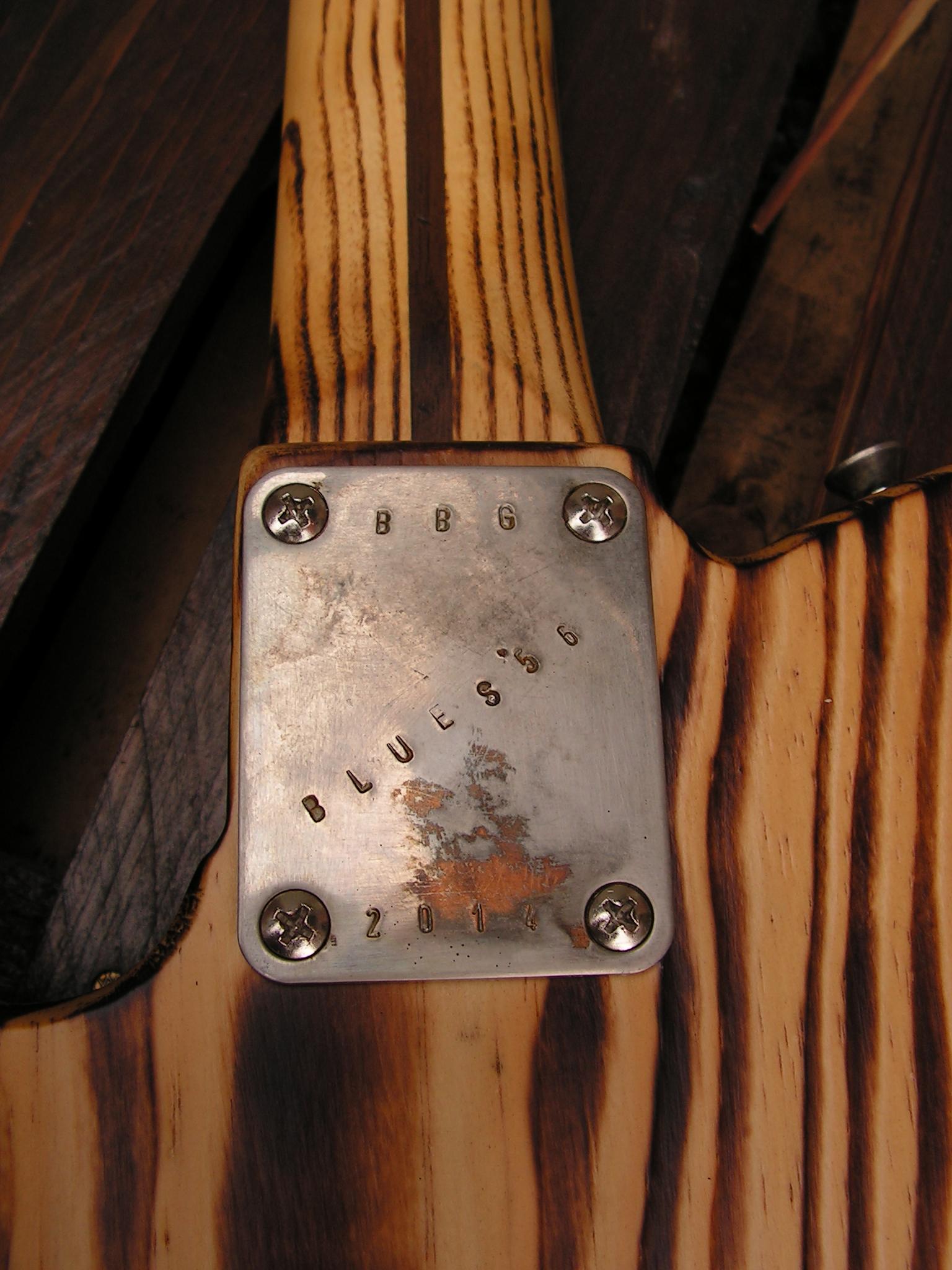 Piastra del manico di una Telecaster in pino