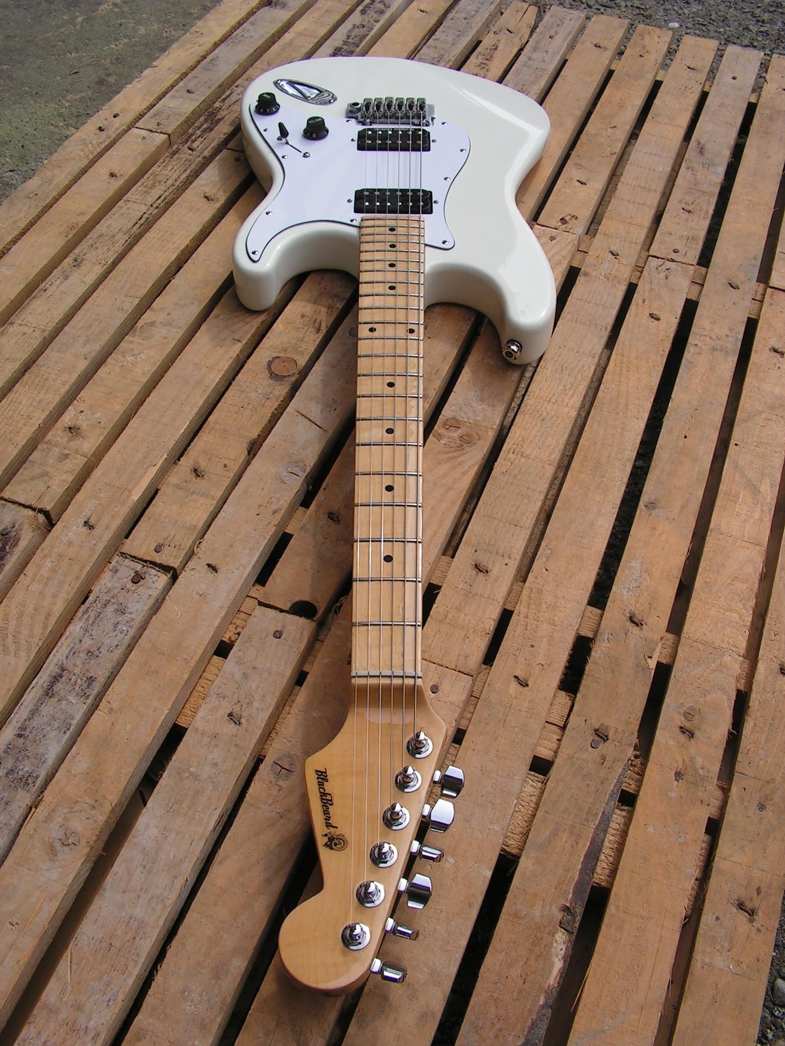 Chitarra Stratocaster con due humbucker