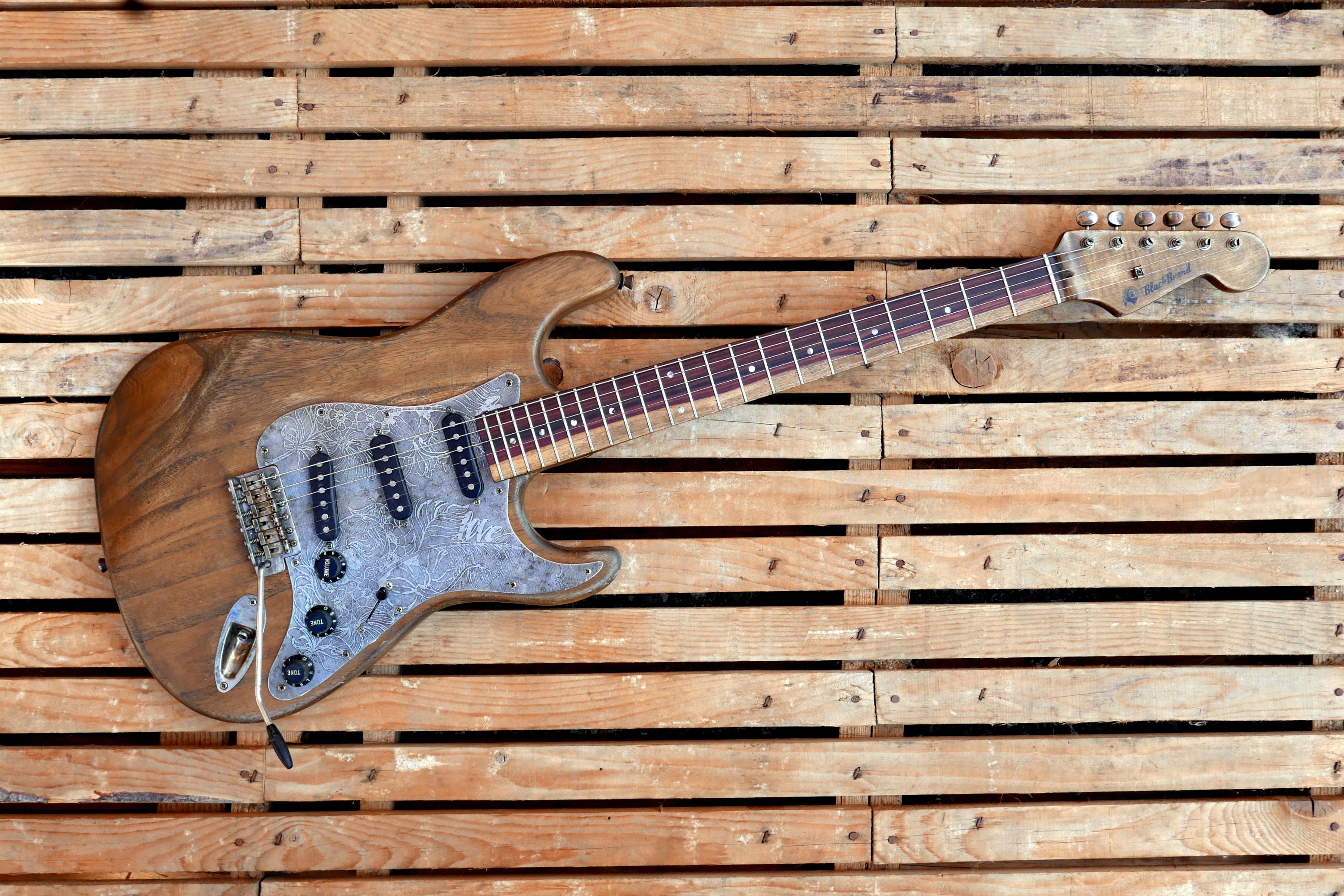chitarra vista generale
