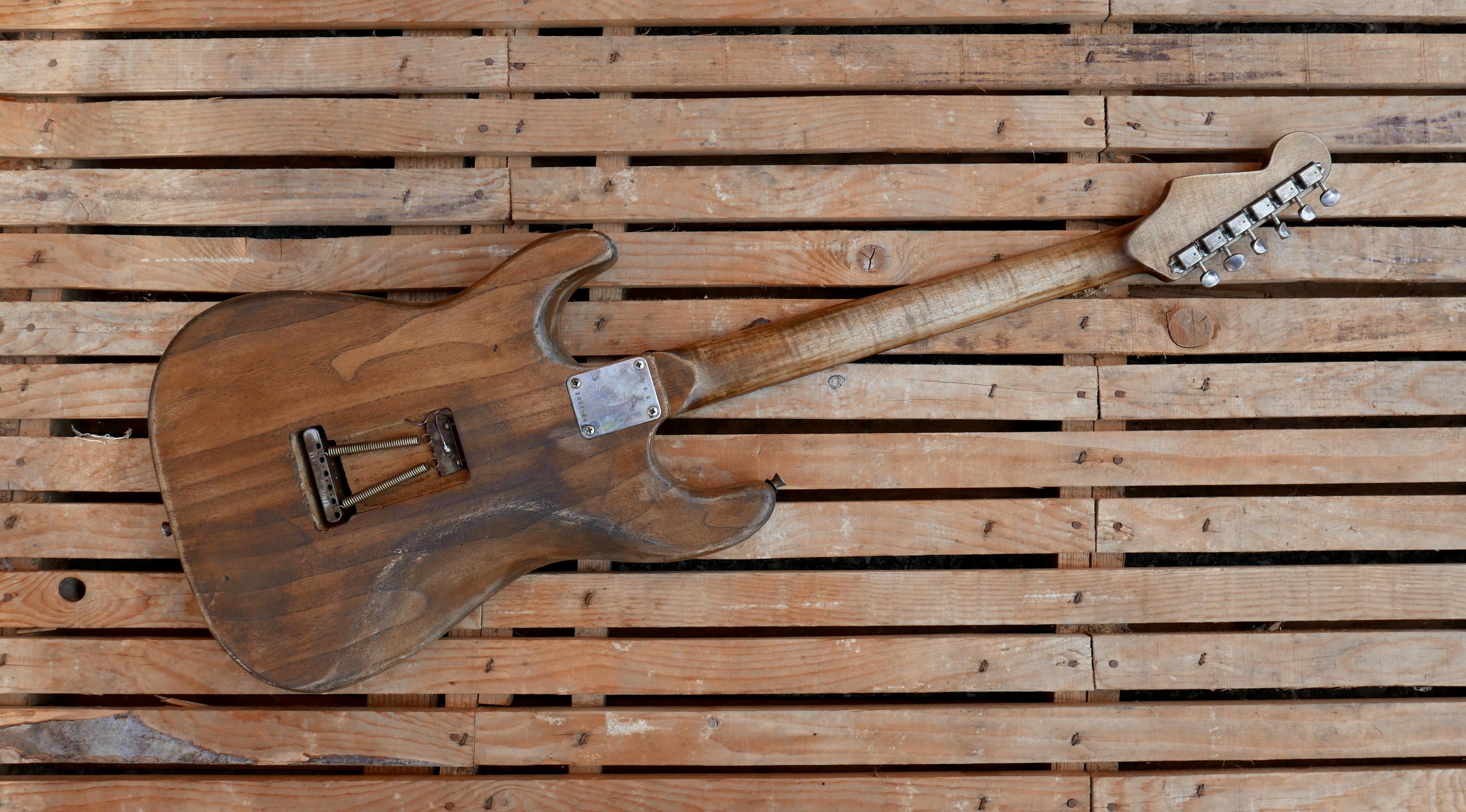 retro chitarra