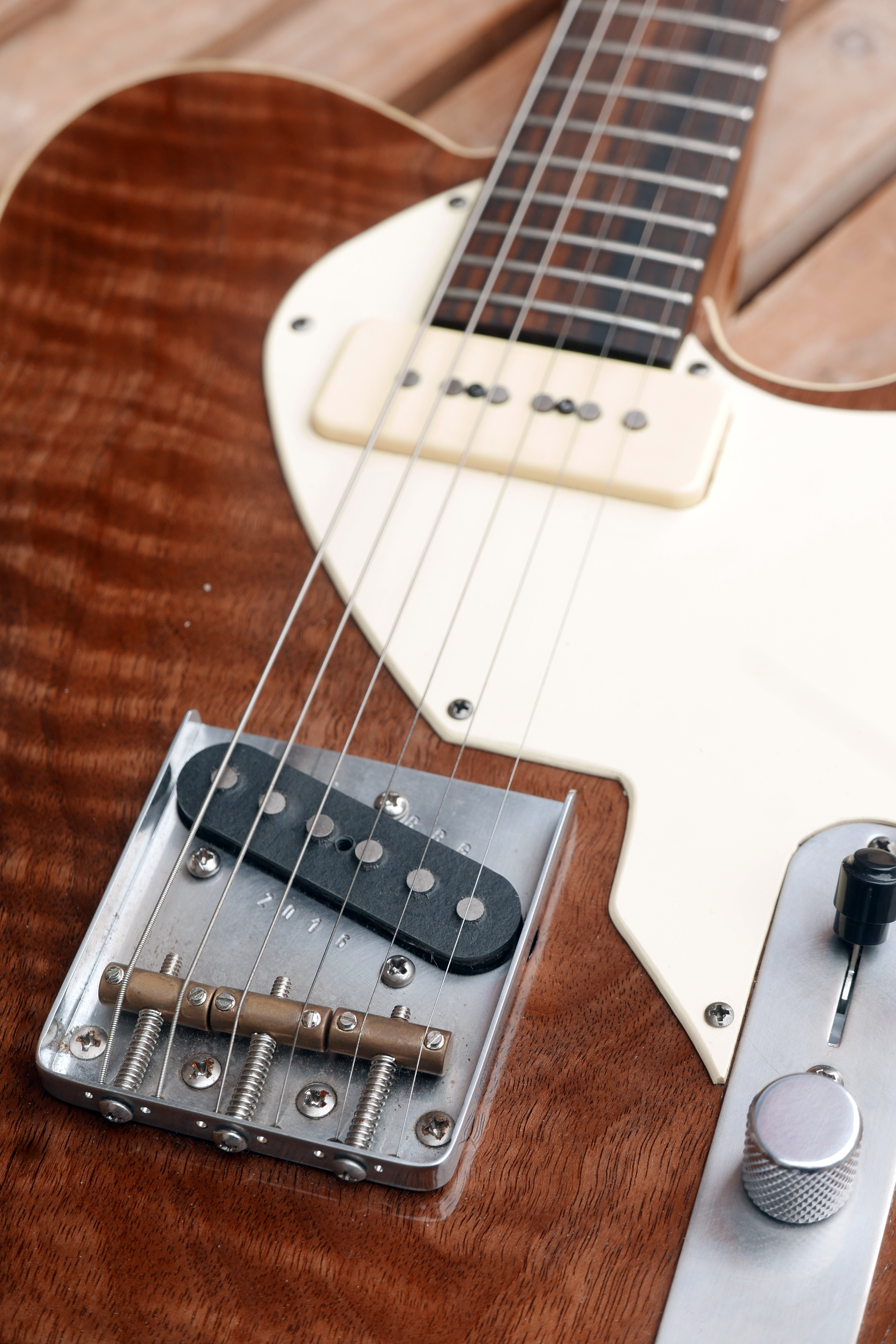ponte e pickup chitarra telecaster
