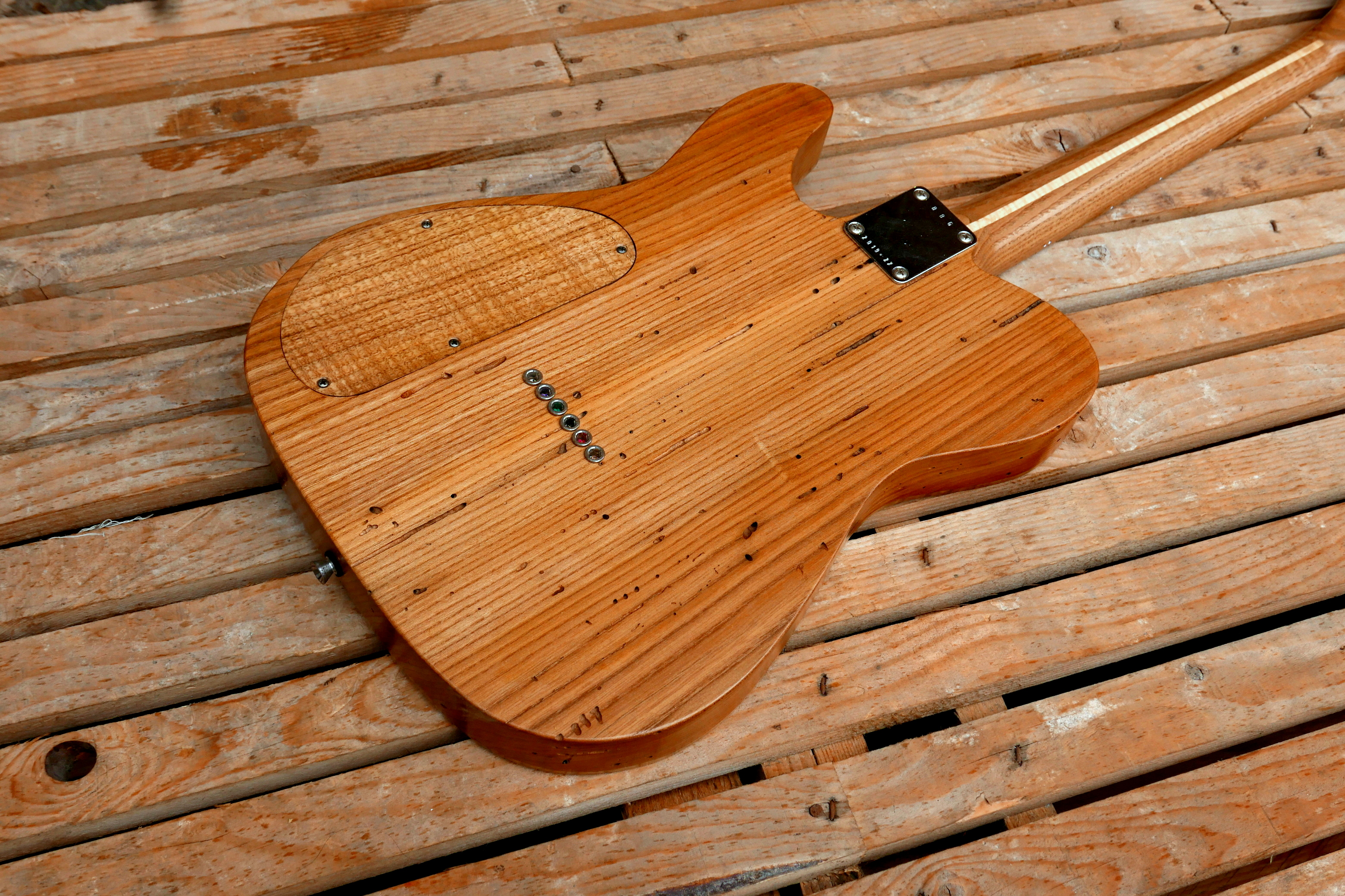 body chitarra telecaster retro