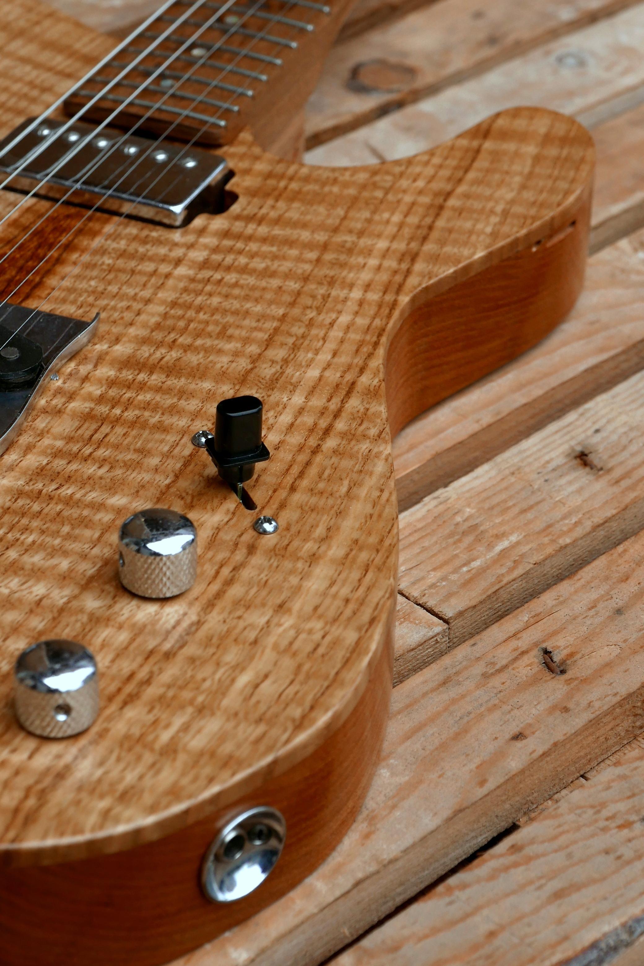 body chitarra telecaster controlli e presa jack
