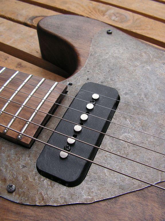 pickup chitarra battipenna alluminio