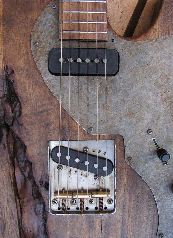 pickups e body chitarra pioppo