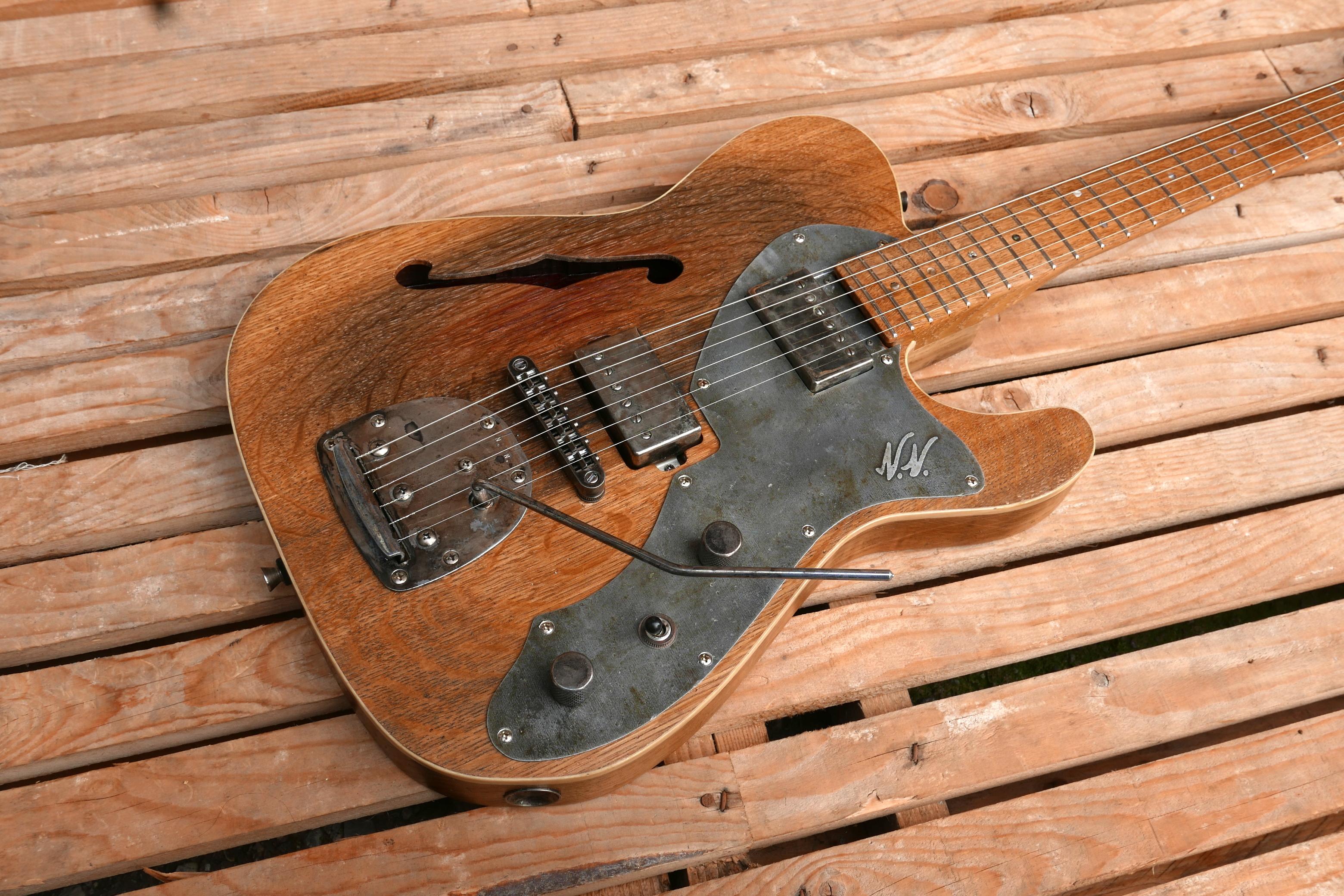 corpo chitarra telecaster