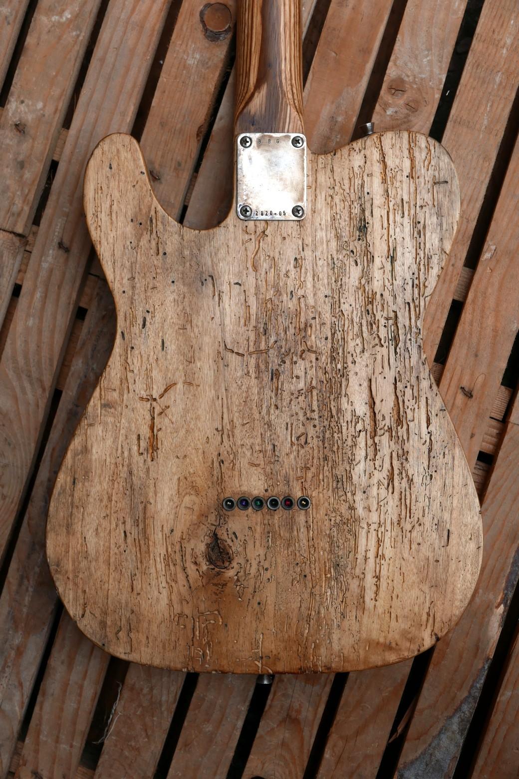 corpo chitarra retro