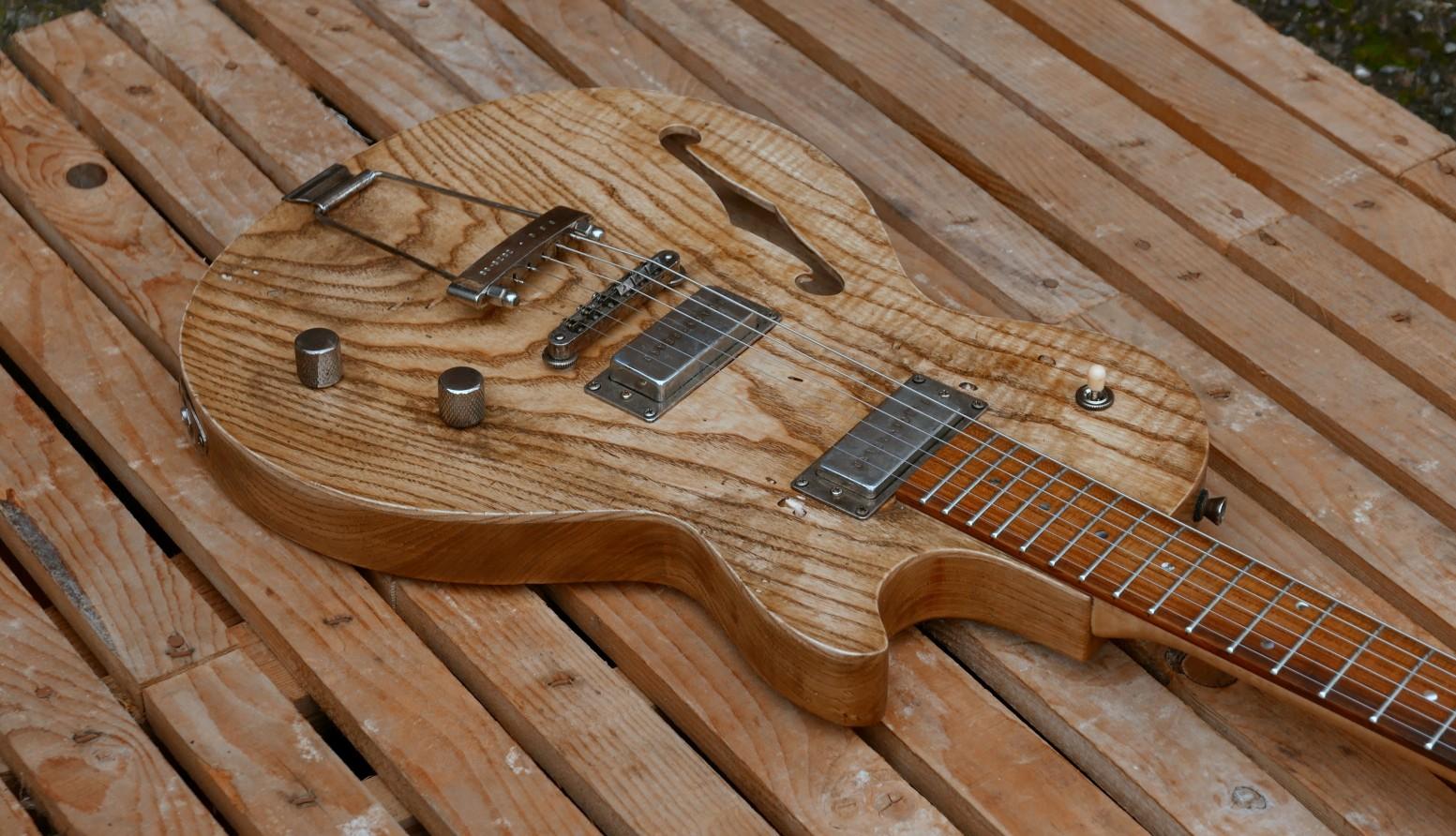 body chitarra frassino