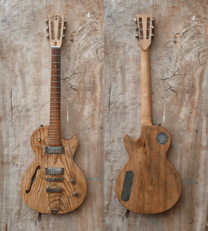 chitarra fronte retro