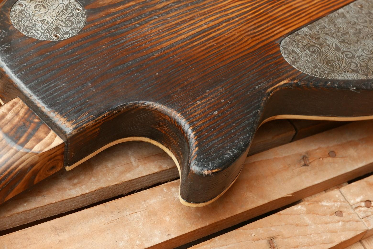 terro chitarra legno grezzo