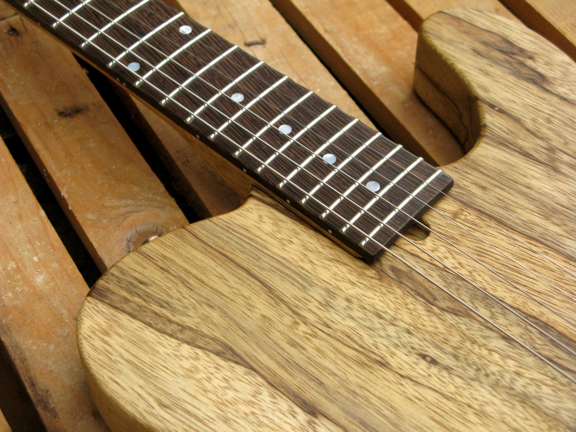 innesto manico chitarra esquire