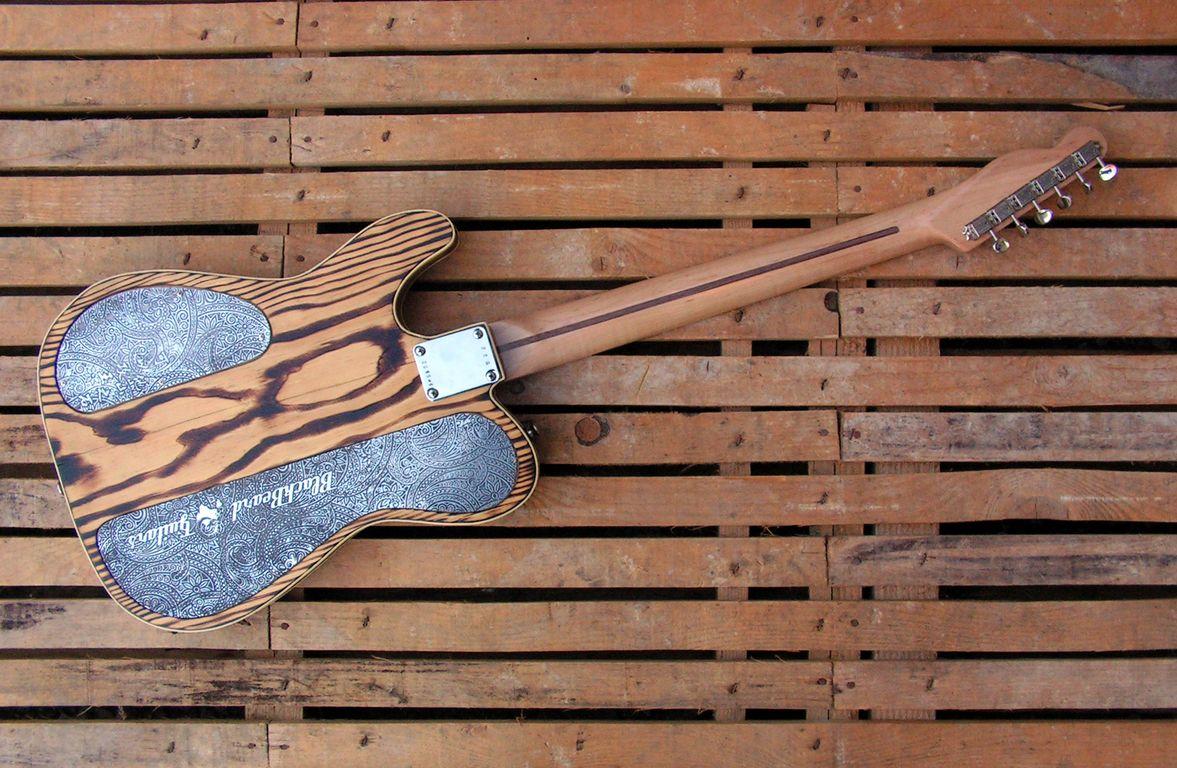 chitarra telecaster retro