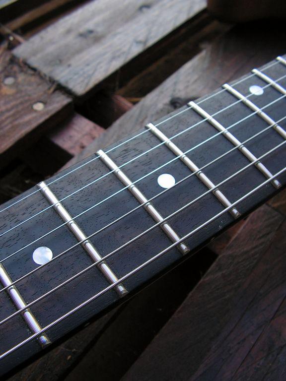 tastiera chitarra ebano