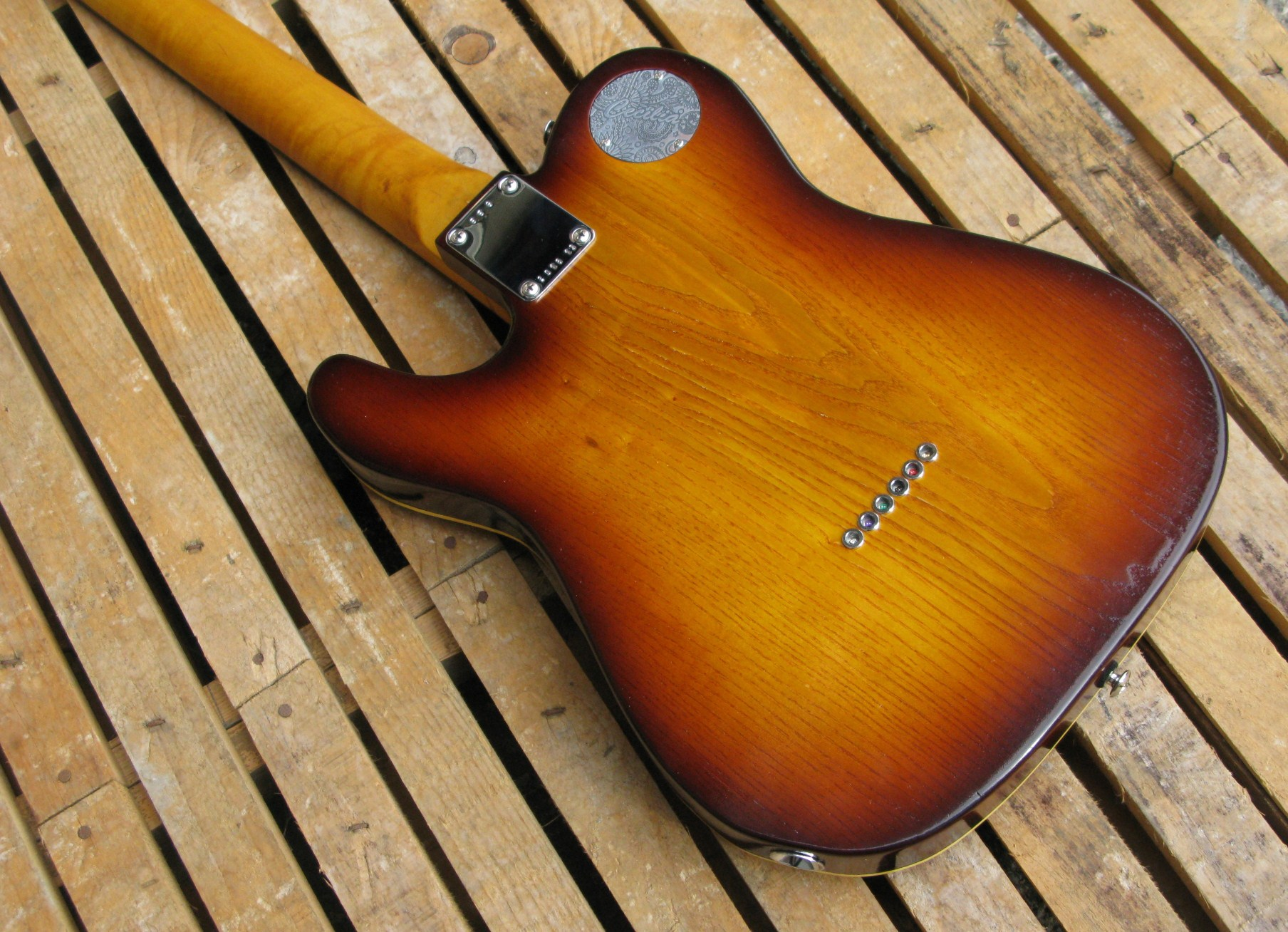 retro body chitarra