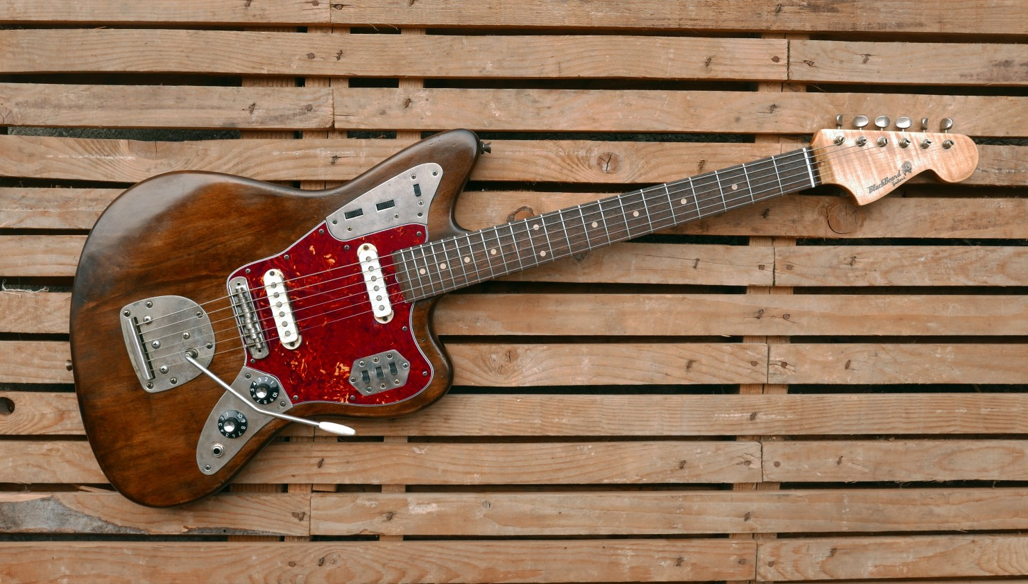 jaguar guitar front