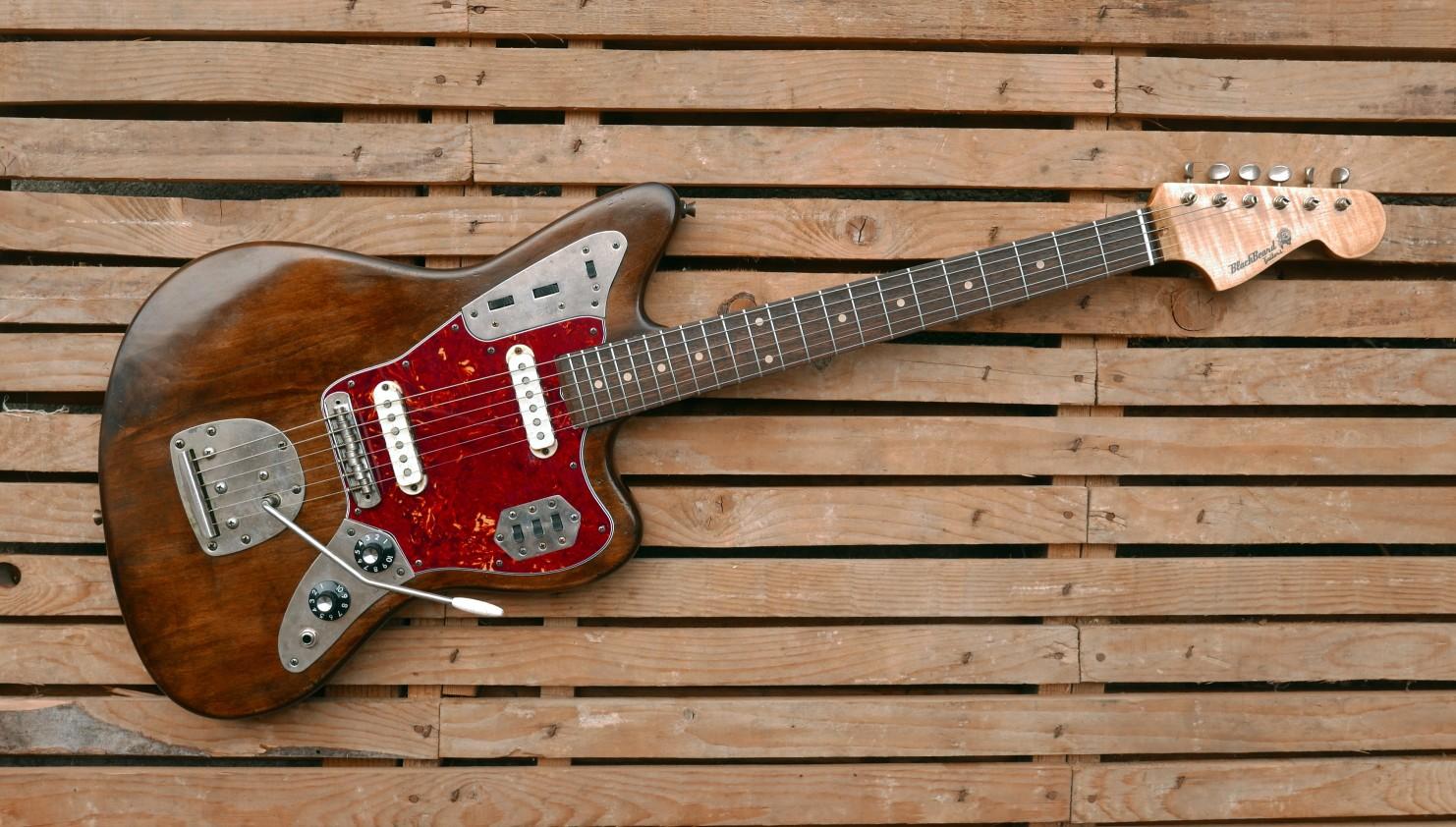 jaguar guitar front