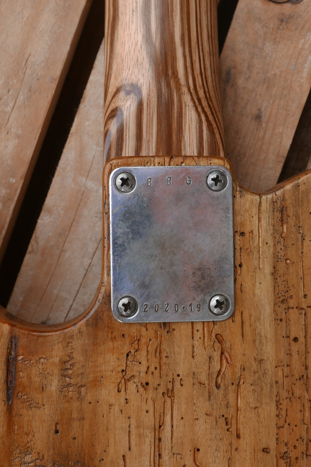 telecaster placca seriale