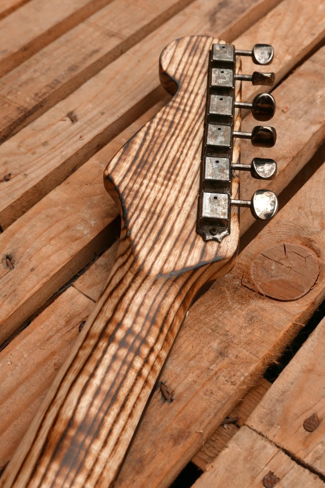 chitarra stratocaster paletta retro