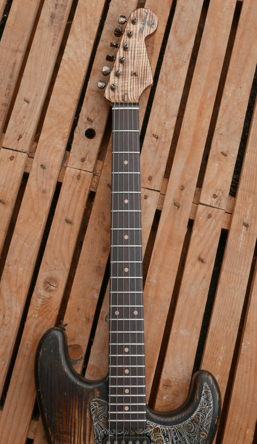 chitarra stratocaster neck