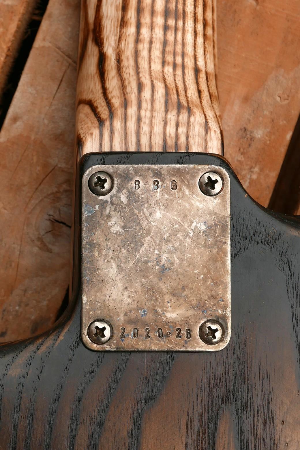 chitarra stratocaster placca manico
