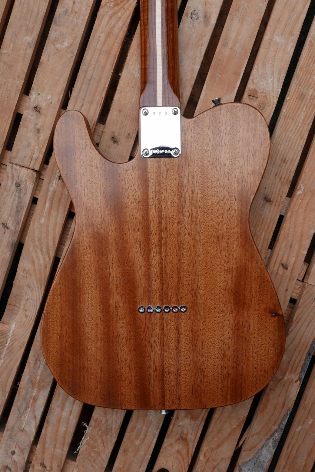chitarra telecaster body retro
