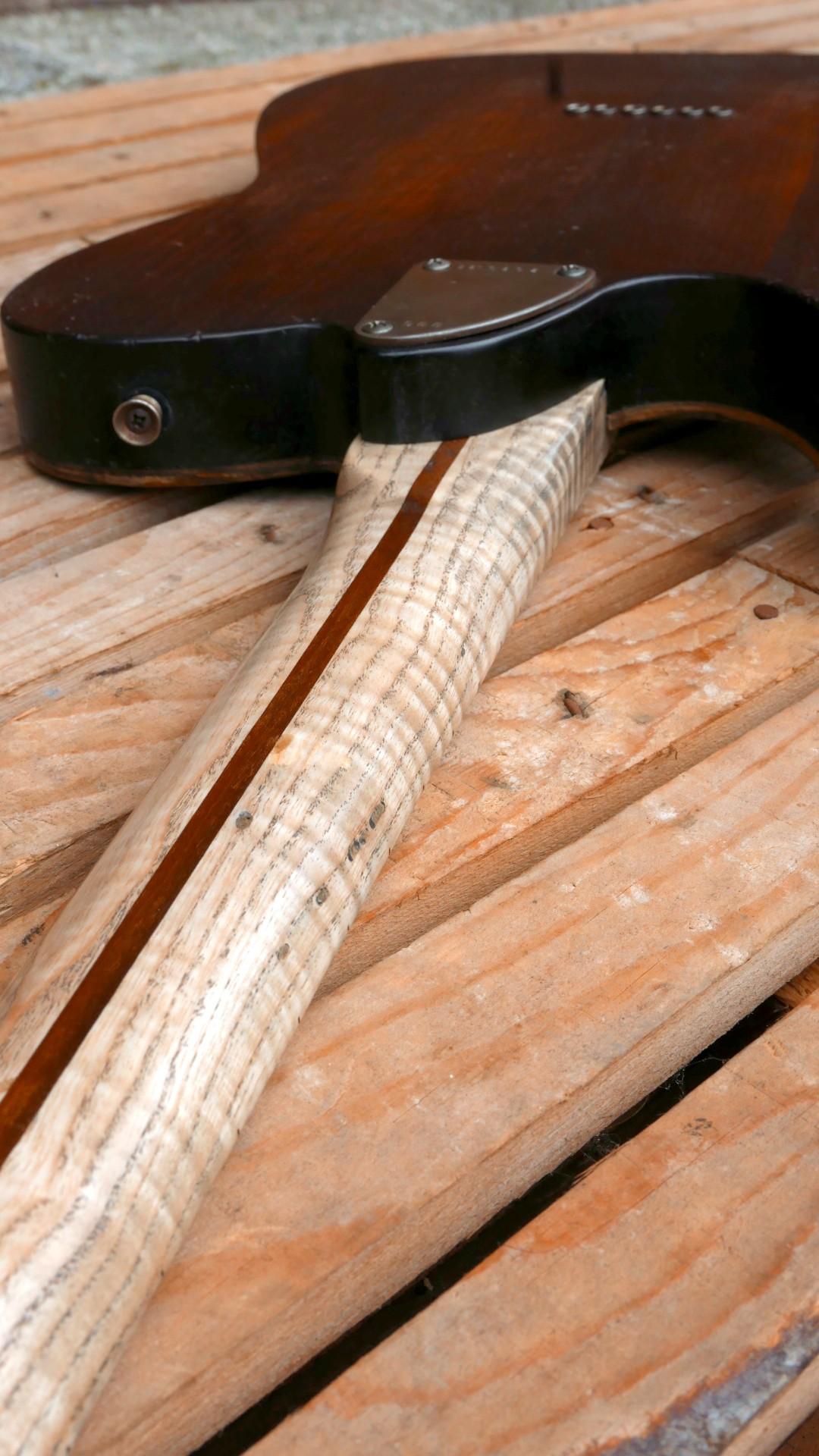 chitarra telecaster retro manico