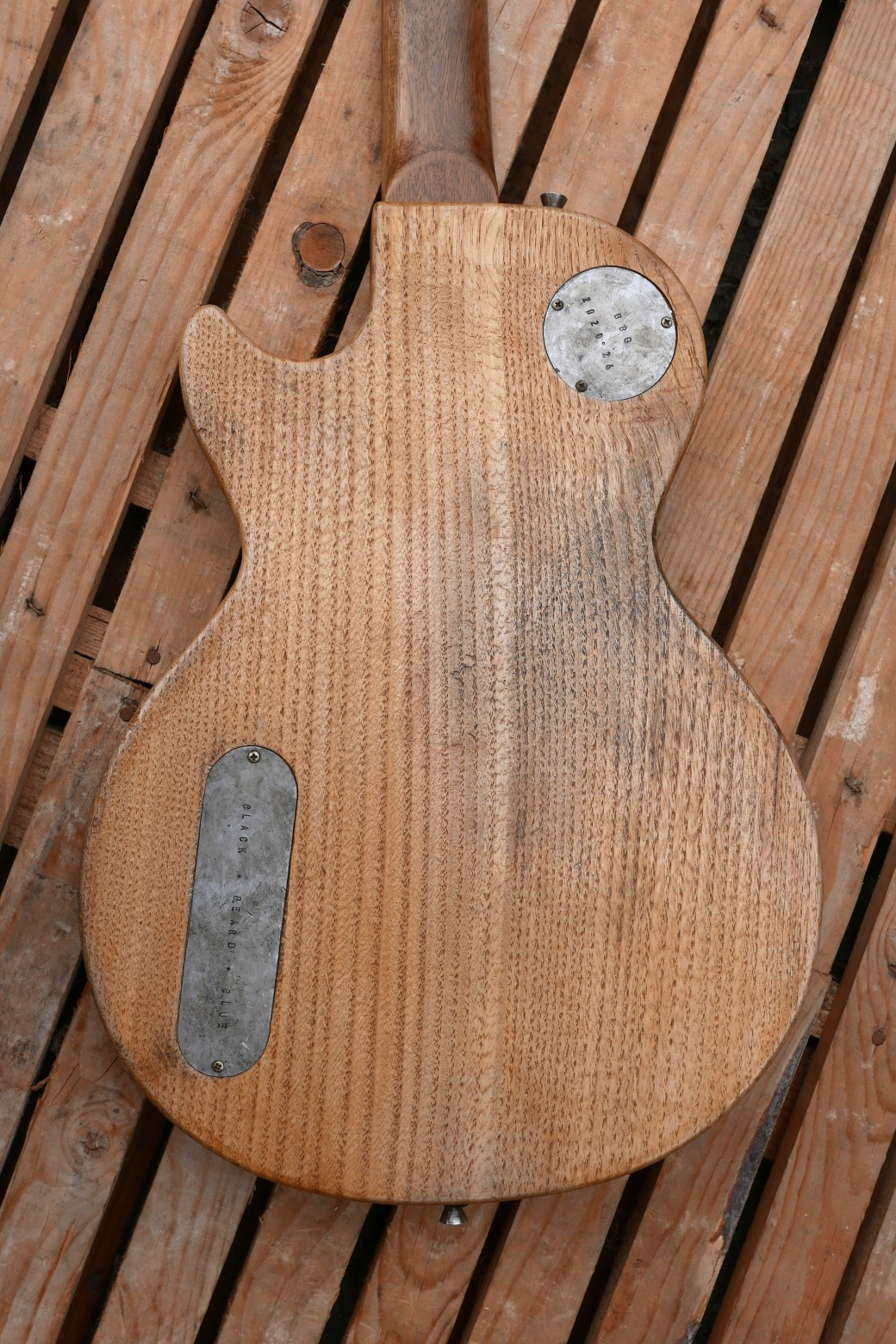 les paul junior body back