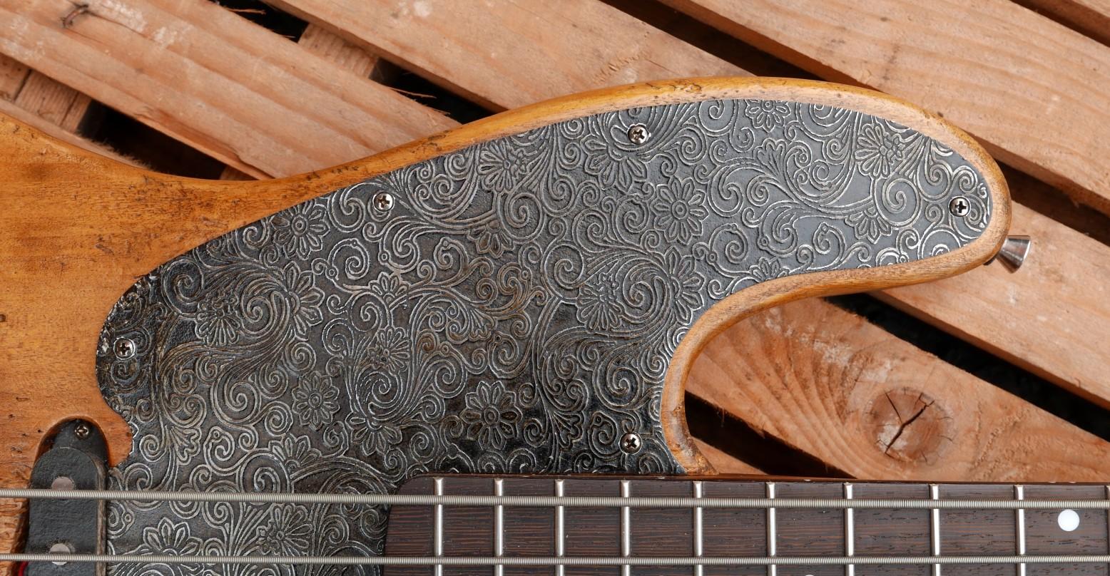 battipenna alluminio inciso