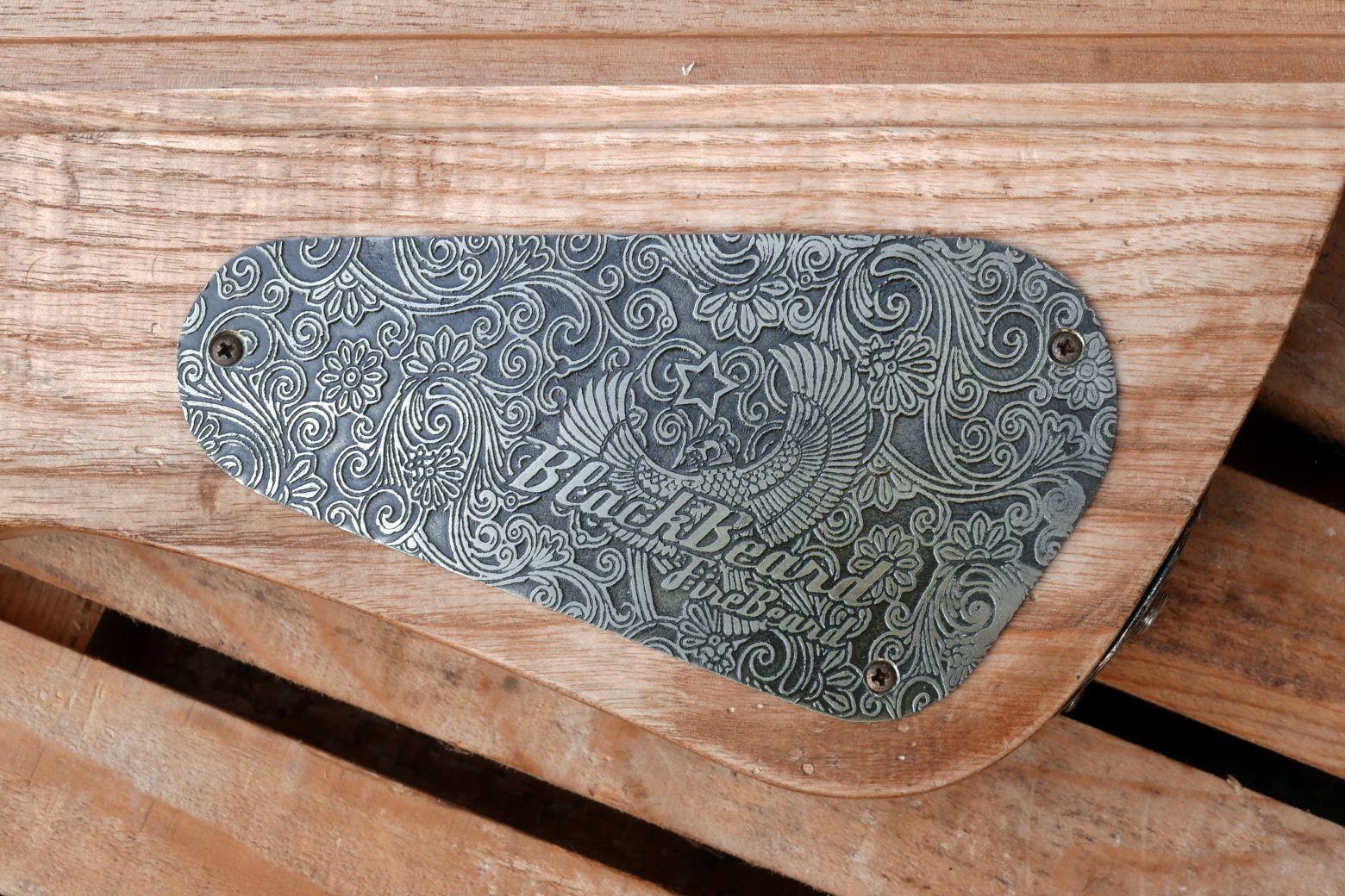 engraved alluminium cover