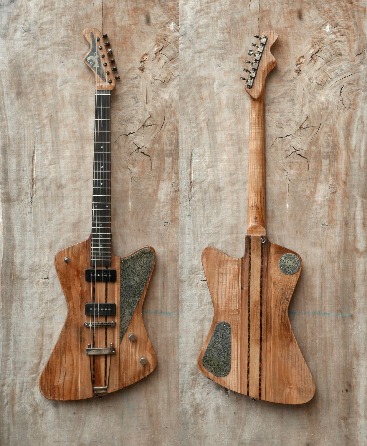firebird guitar front rear