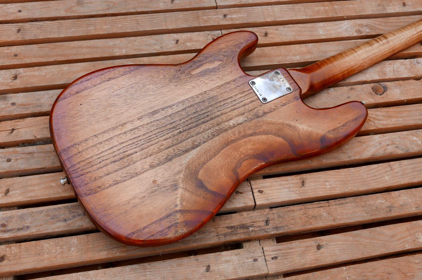precision bass back
