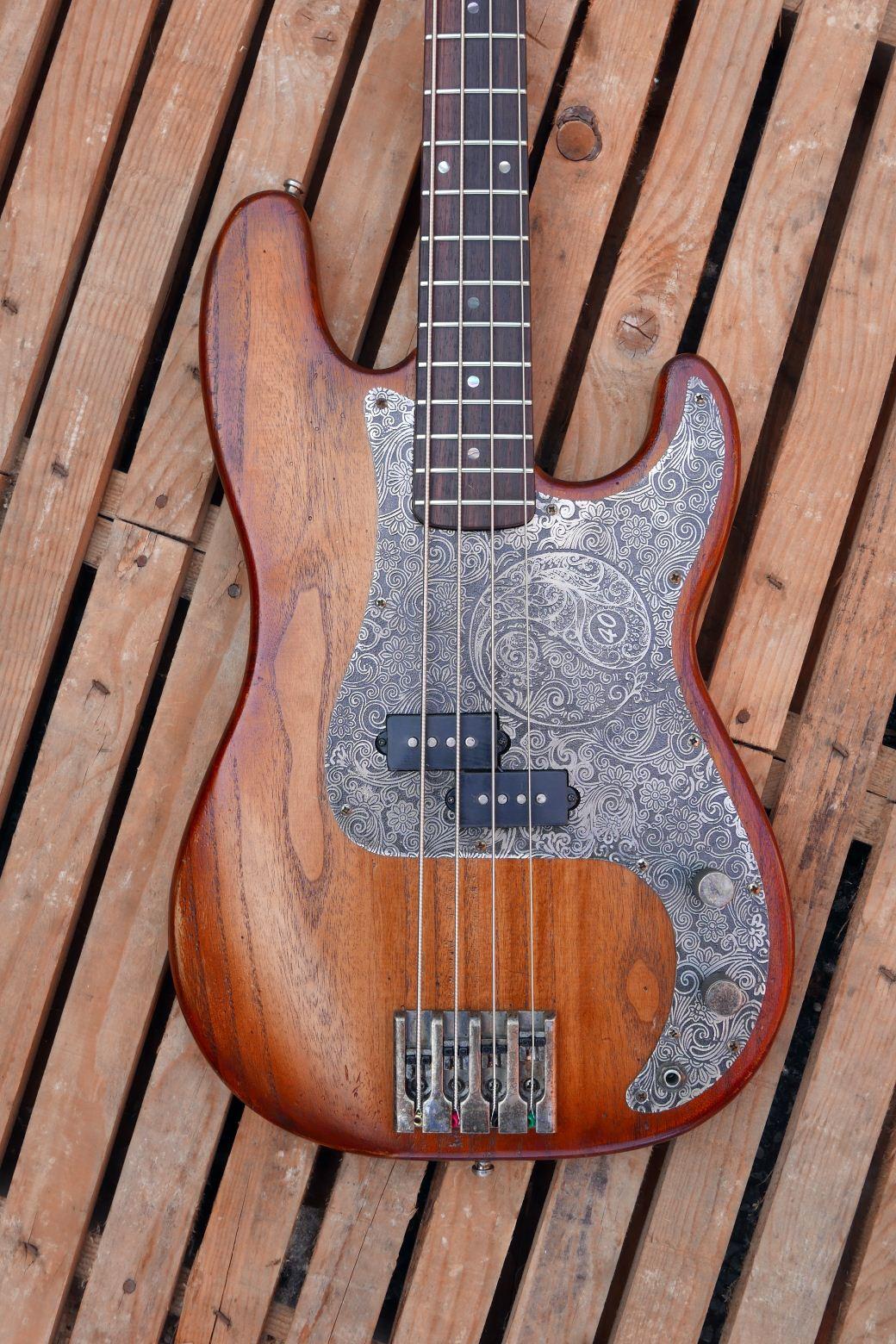 precision bass body