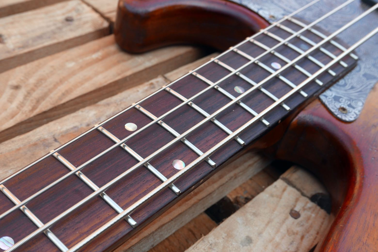 precision bass fingerboard