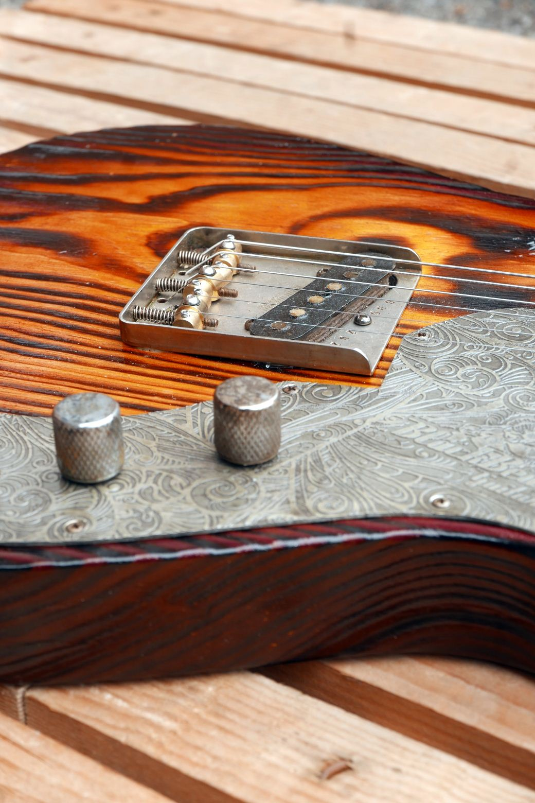 telecaster roasted controls