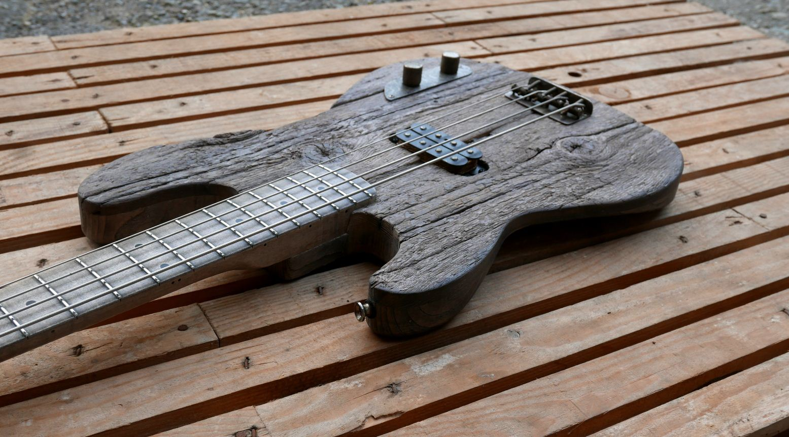 precision bass old wood