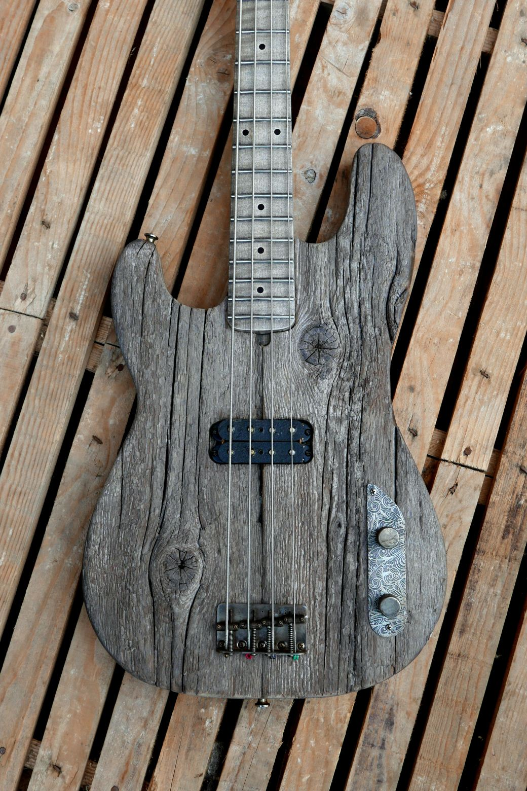 precision bass old wood larch