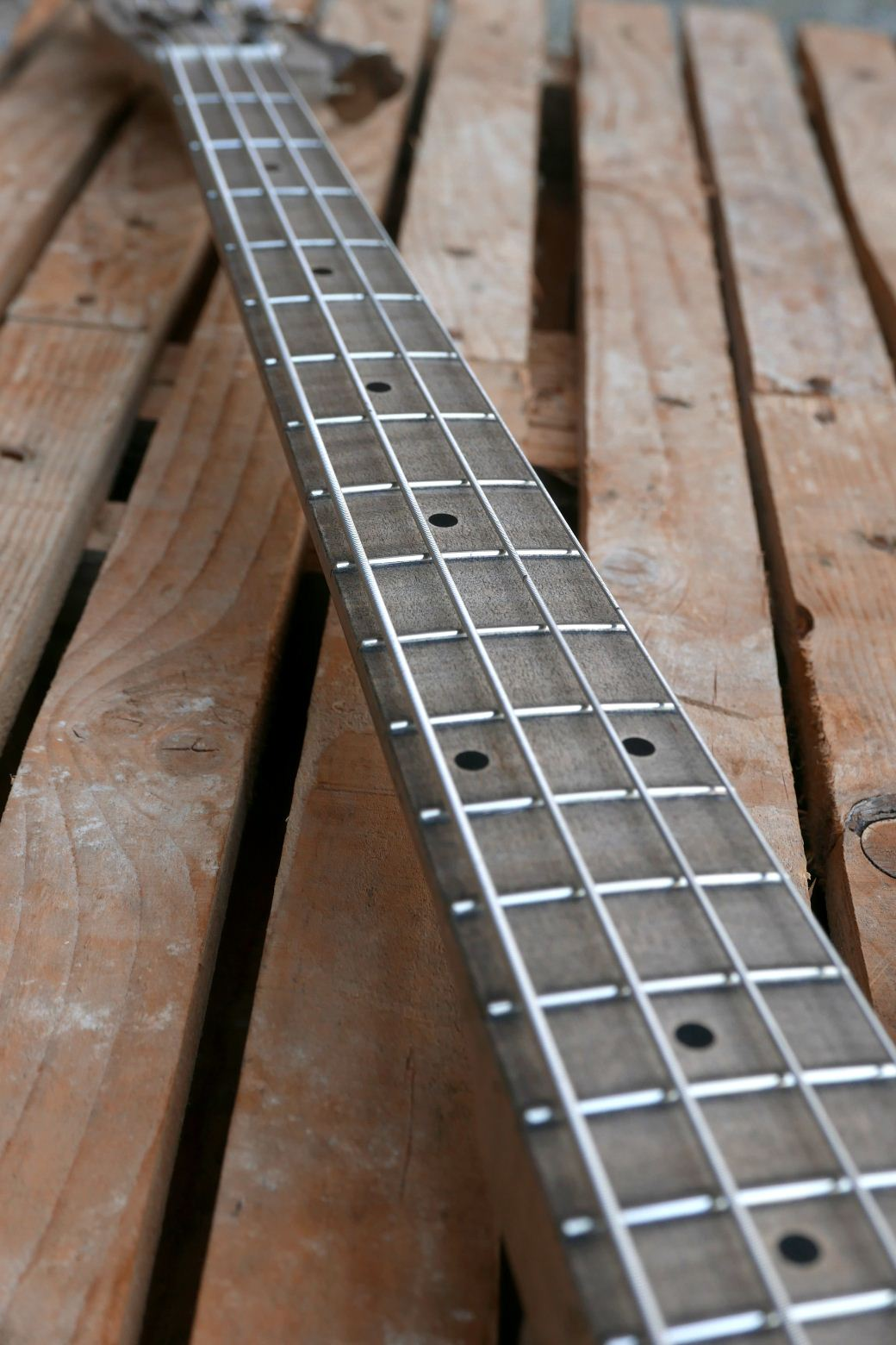 precision bass old wood fingerboard