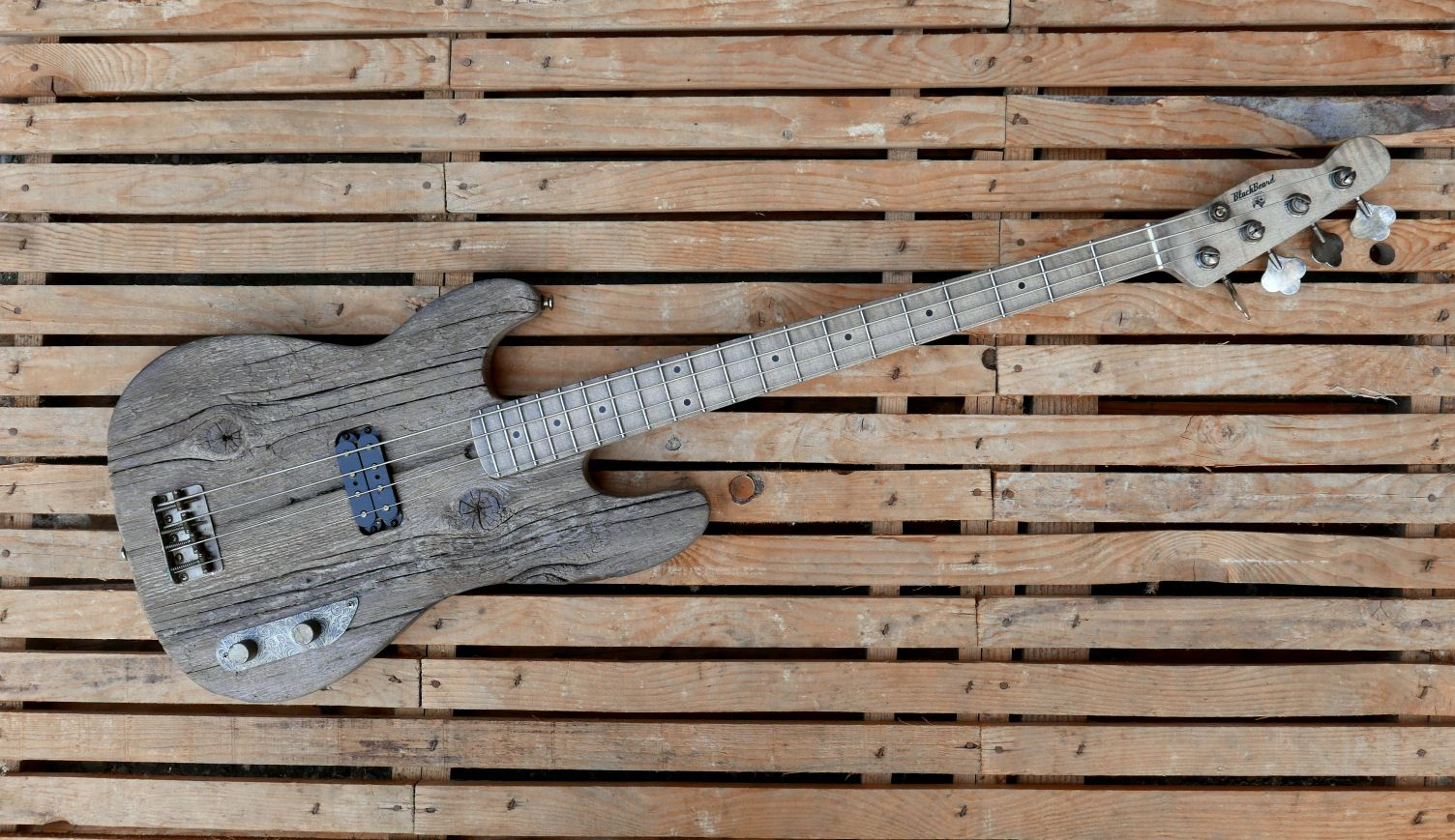 precision bass old wood front