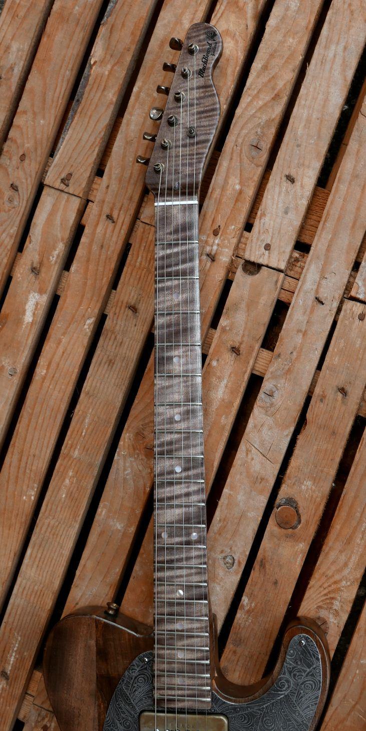 telecaster old poplar maple fingerboard