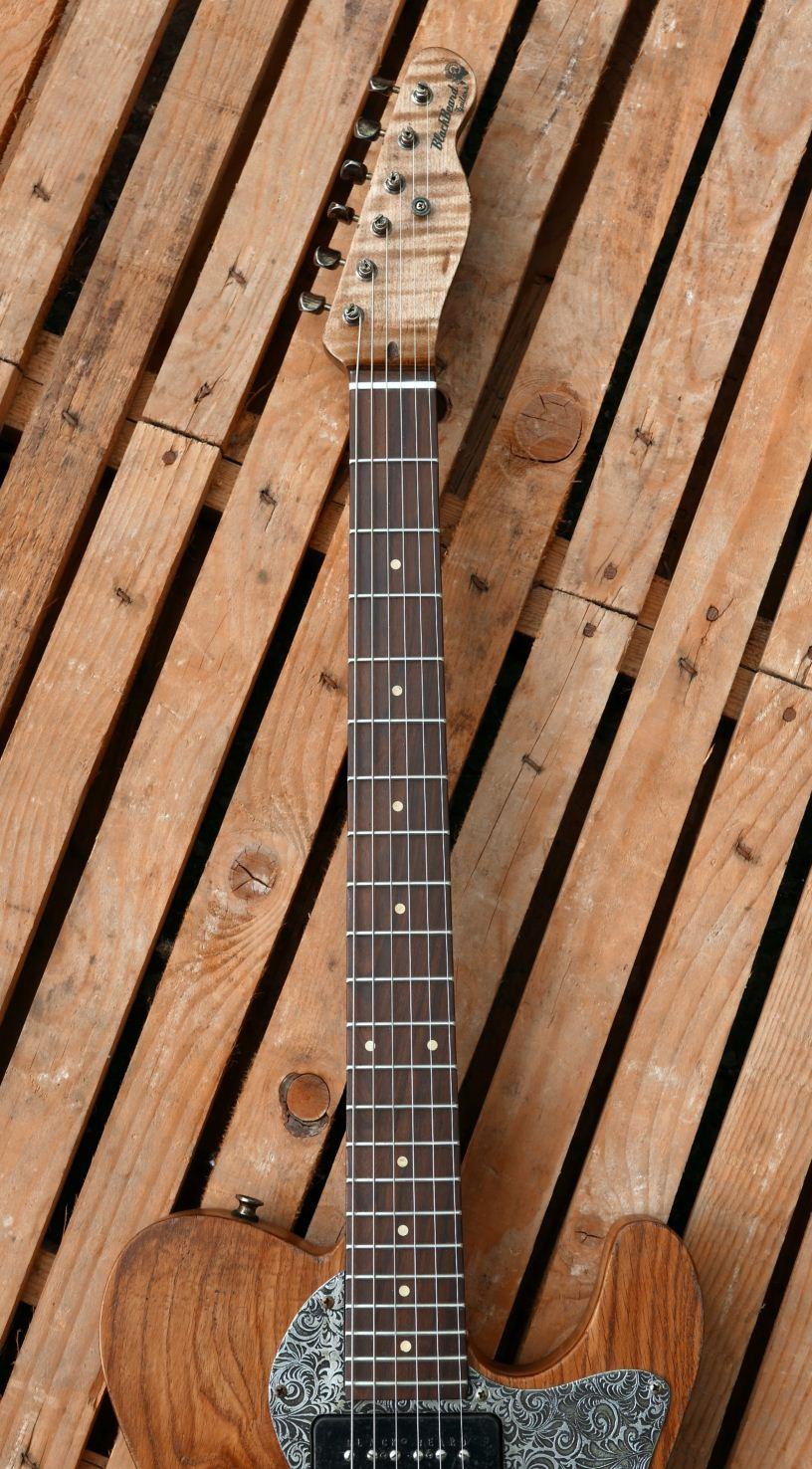 chitarra telecaster tastiera santos