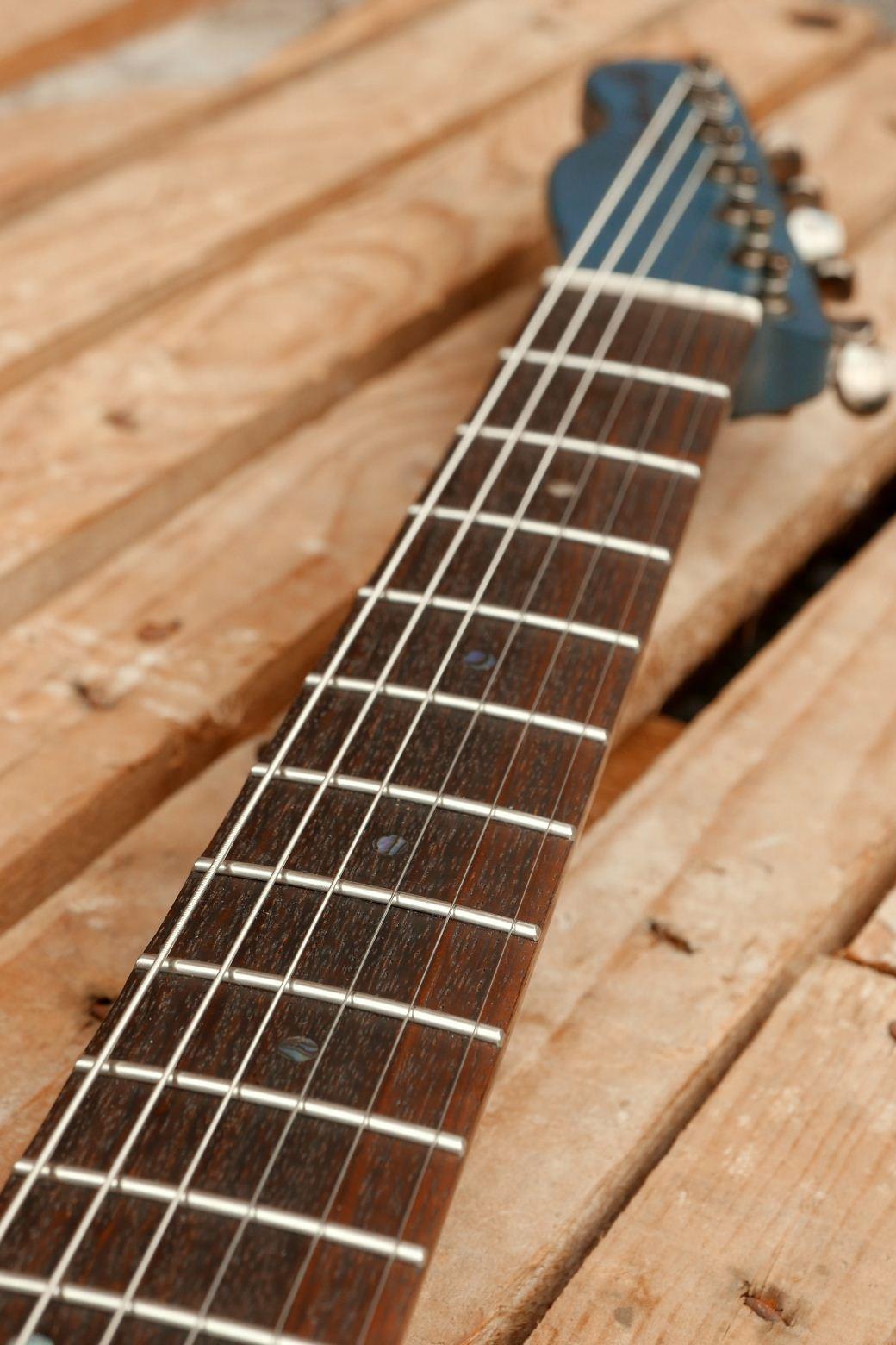 chitarra telecaster in mogano tastiera