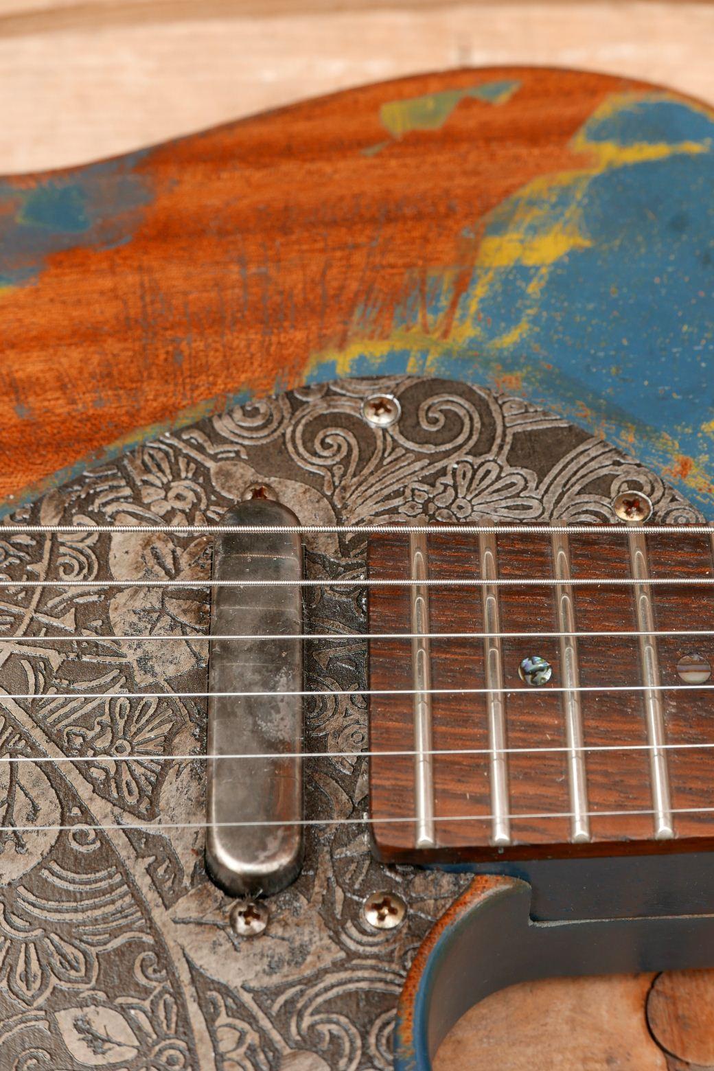 chitarra telecaster in mogano pickup
