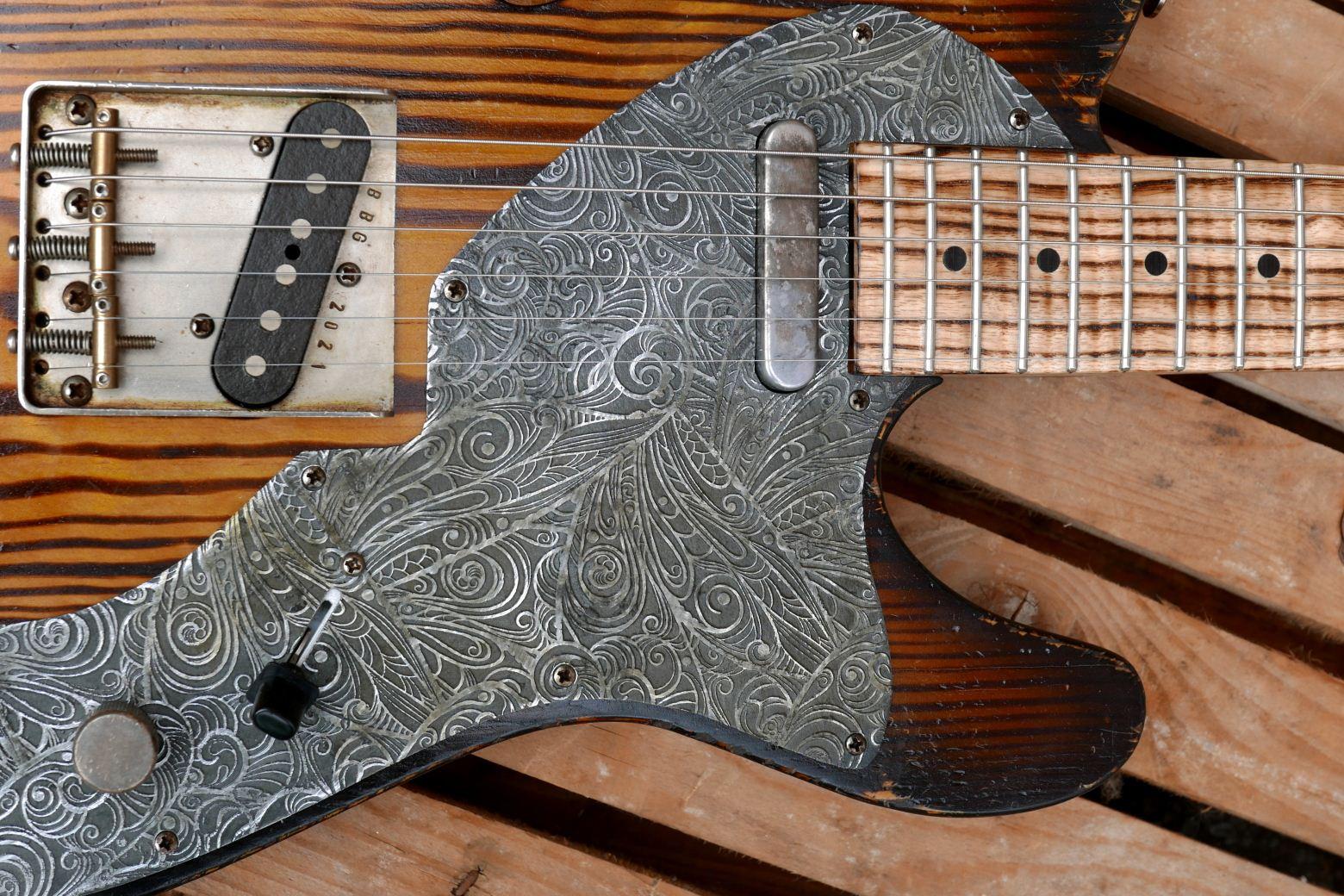 telecaster chitarra battipenna