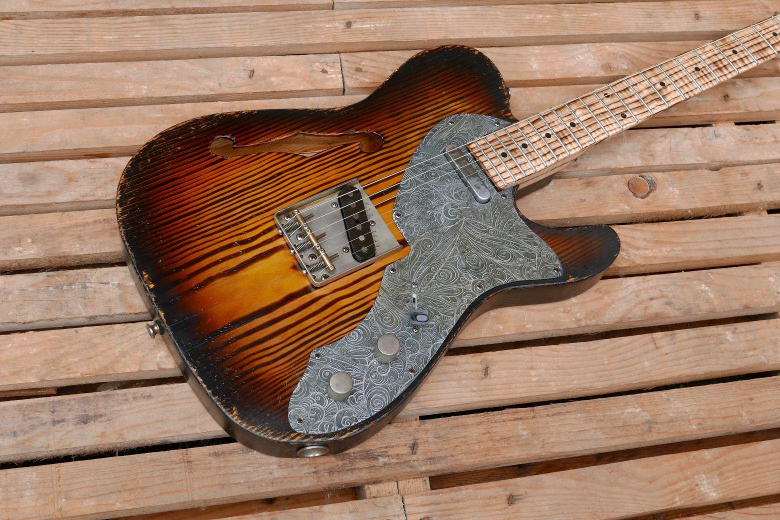telecaster chitarra corpo
