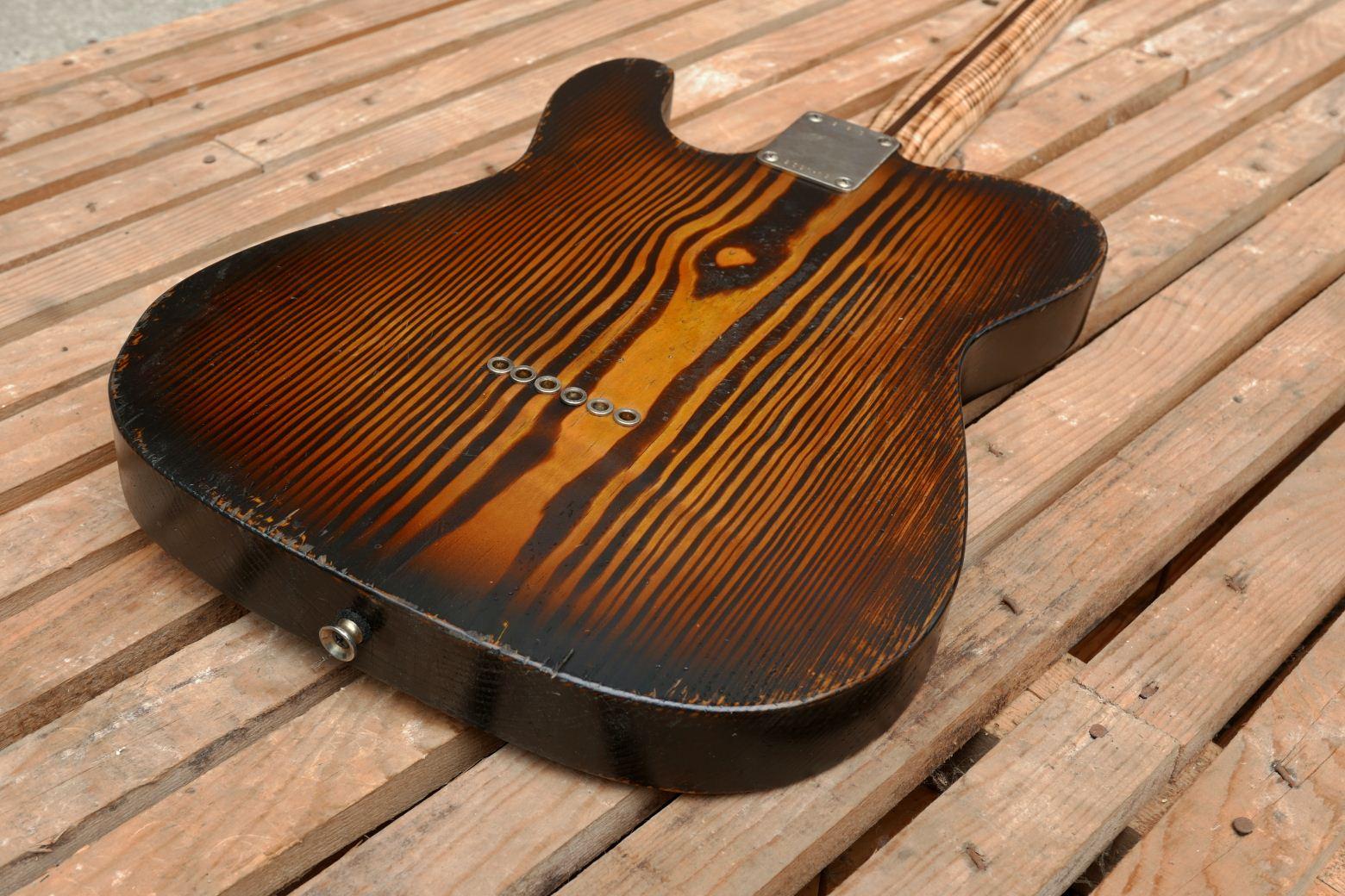 telecaster chitarra corpo retro